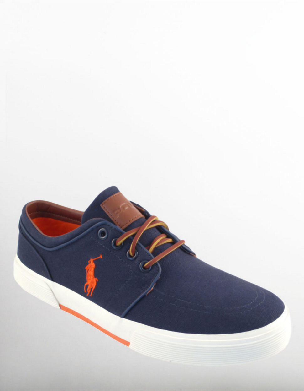 polo ralph faxon sneakers in blue for navy lyst
