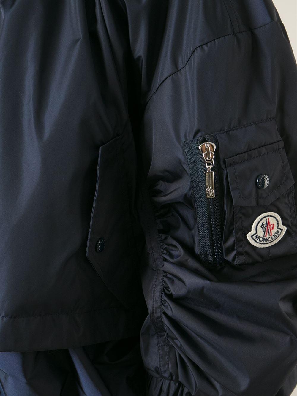 moncler Bomber Jackets BLUE