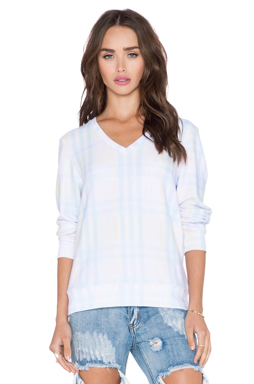 Lyst Wildfox Pastel Summer Plaid Sweater