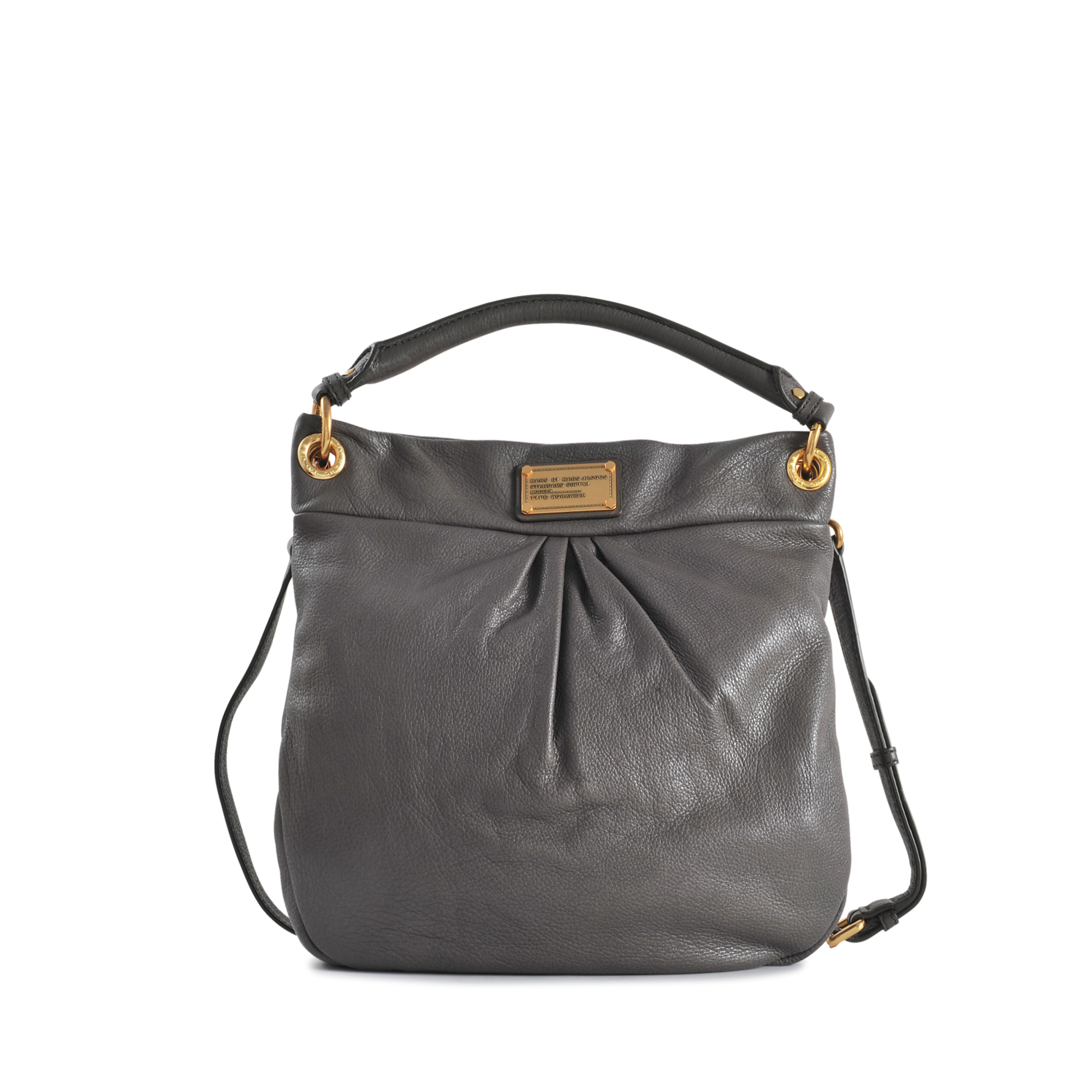 626454782e90d Marc By Marc Jacobs Classic Q Hillier Hobo in Gray - Lyst