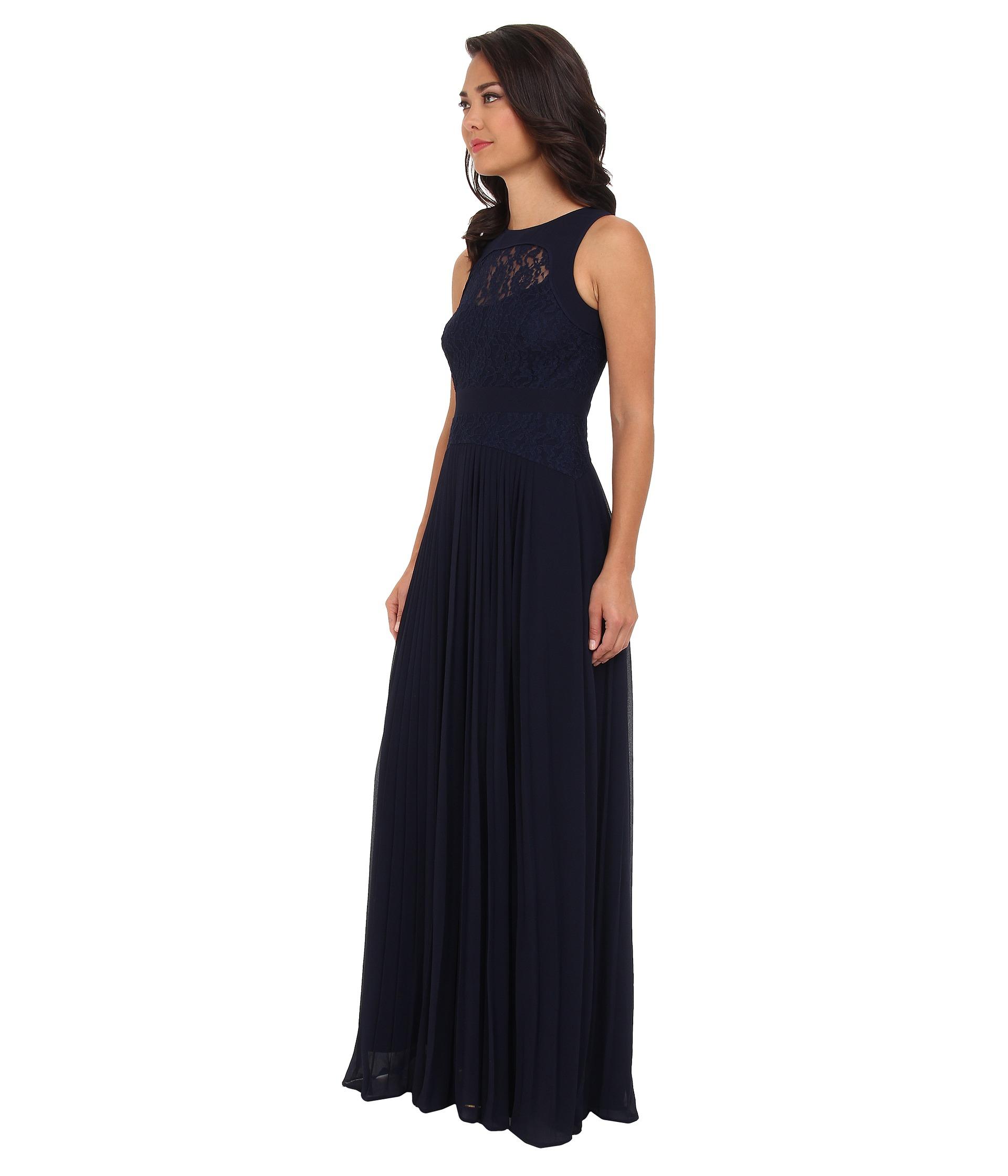 740fc83b67 Lyst Jessica Simpson Sleeveless Fit Flare Maxi Dress W Side