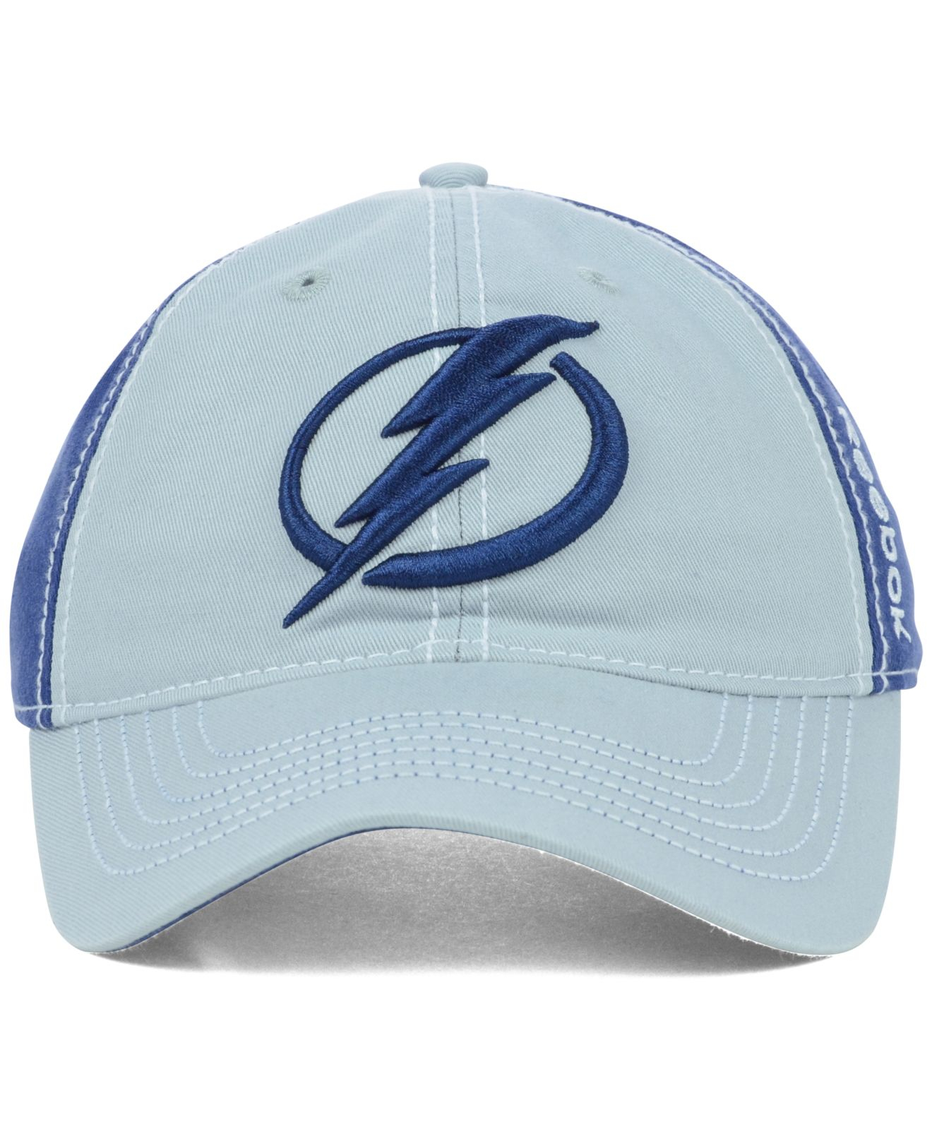 5936b7386f7 Lyst - Reebok Tampa Bay Lightning Nhl Spin Slouch Cap in Blue for Men