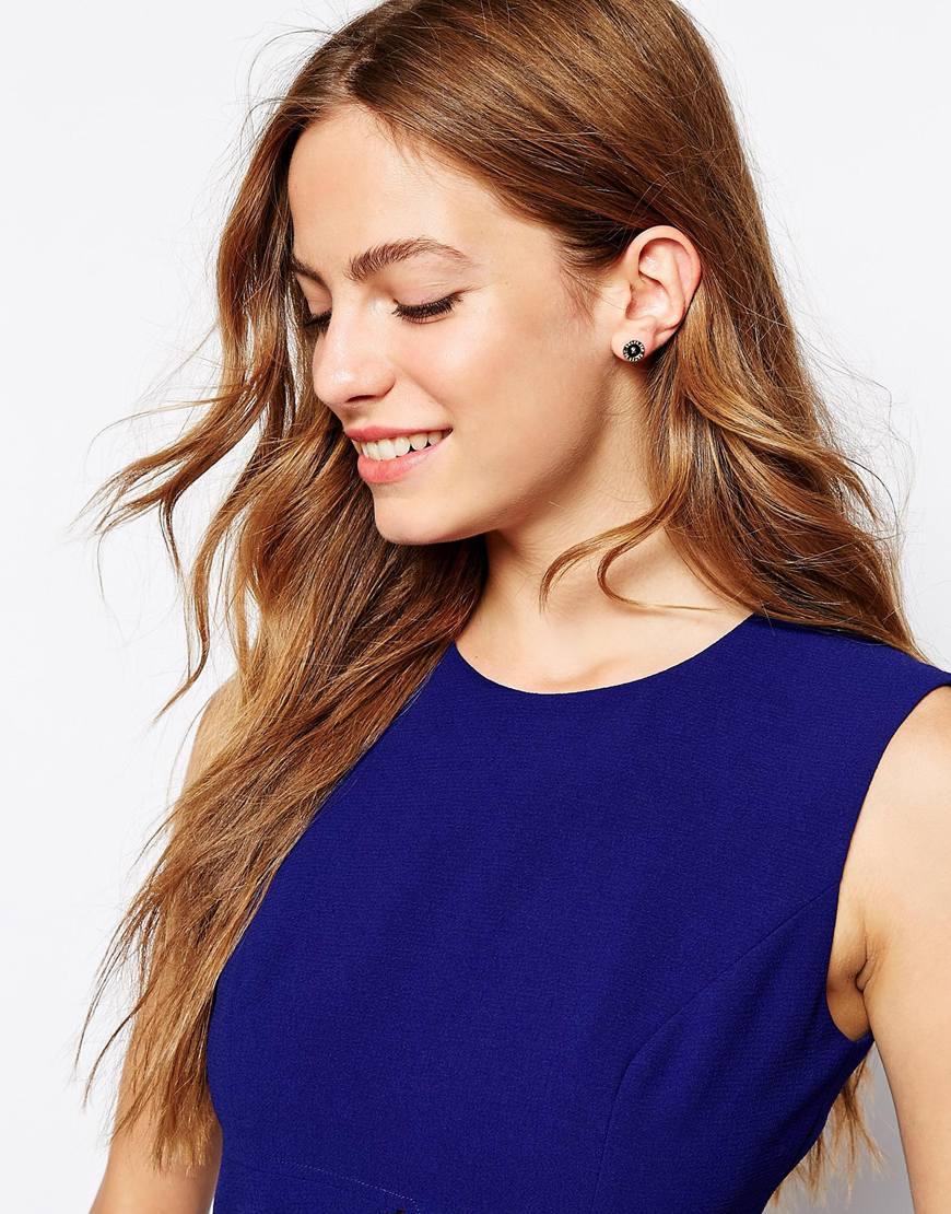 f664faa9a8708 Ted Baker Seraa Crystal Daisy Lace Stud Earrings - Best All Earring ...