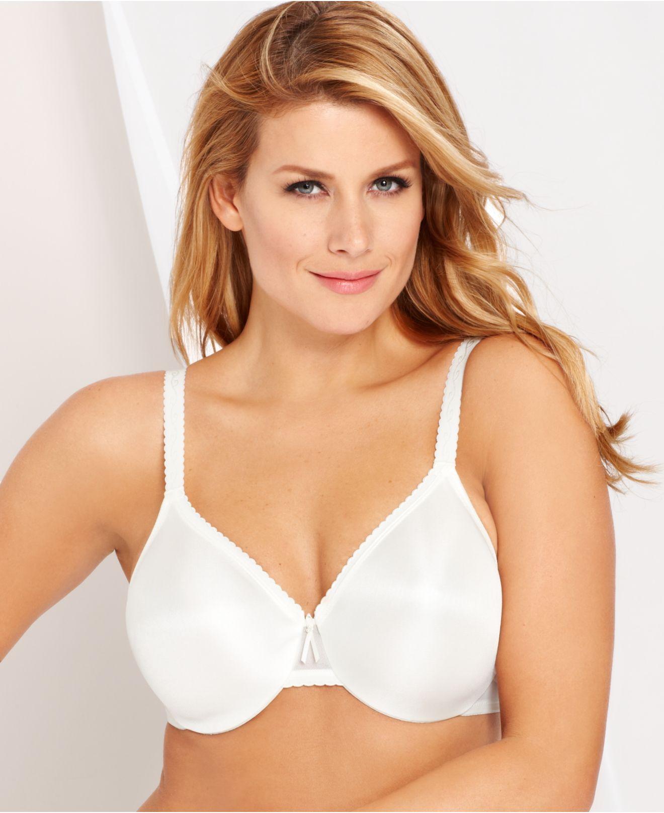 d6274493a3 Lyst - Wacoal Full Figure Simple Shaping Minimizer Bra 857109 in Natural