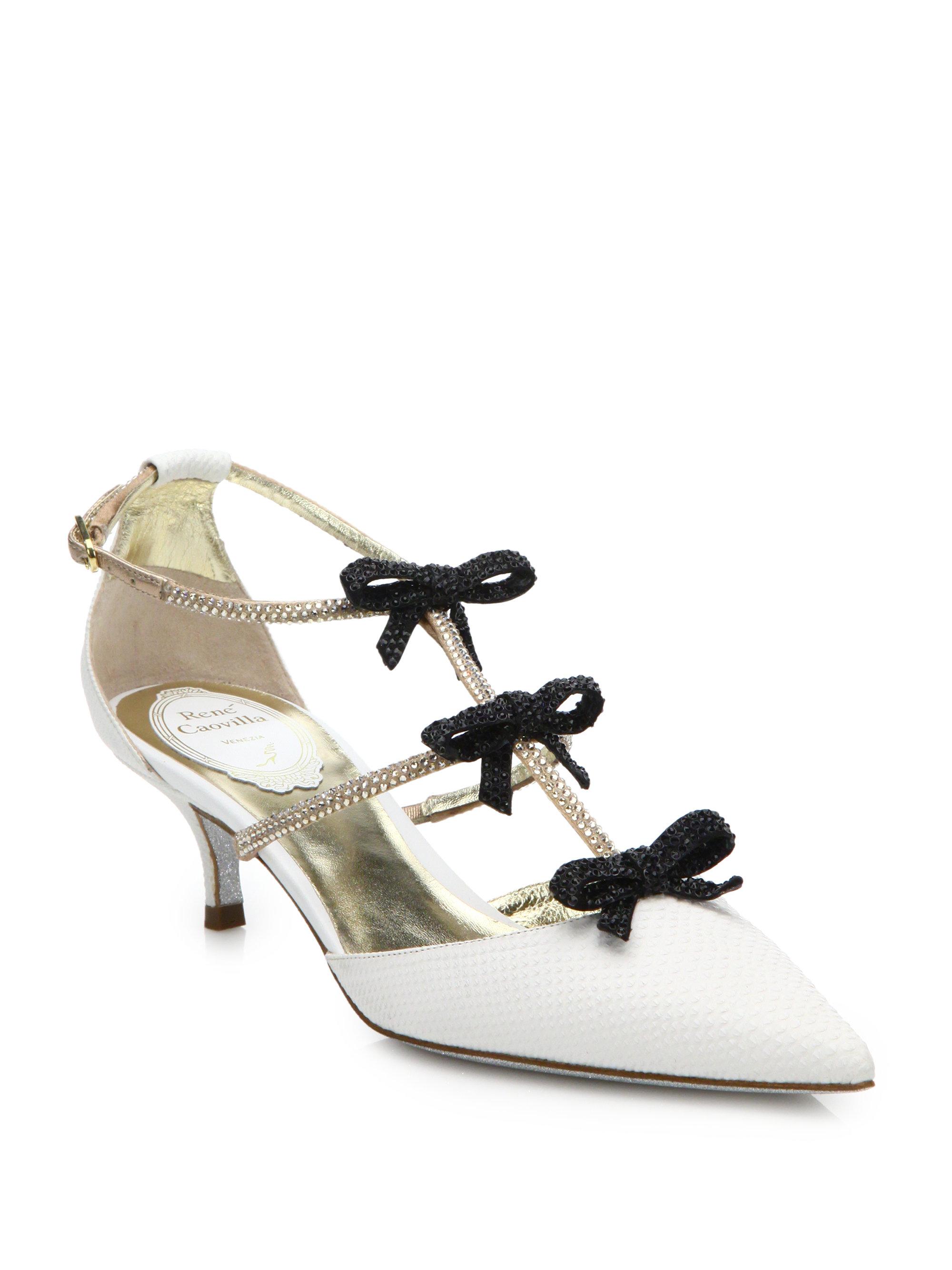 RENé CAOVILLA Leather Heels 7BVXoT