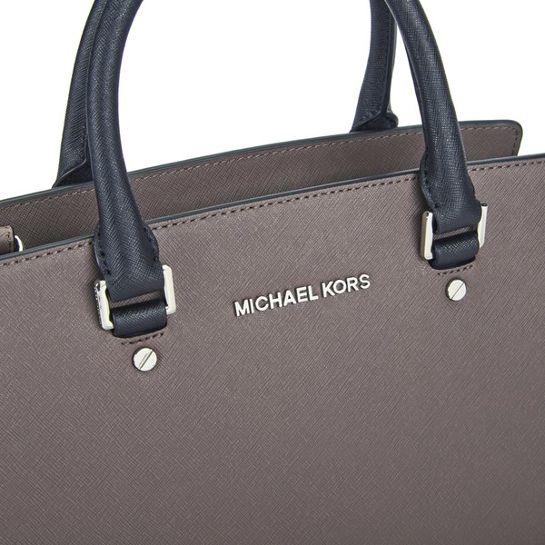 19c58b8ea058 ... coupon code for michael michael kors womens selma multi satchel bag in  brown lyst 14699 5a4c3