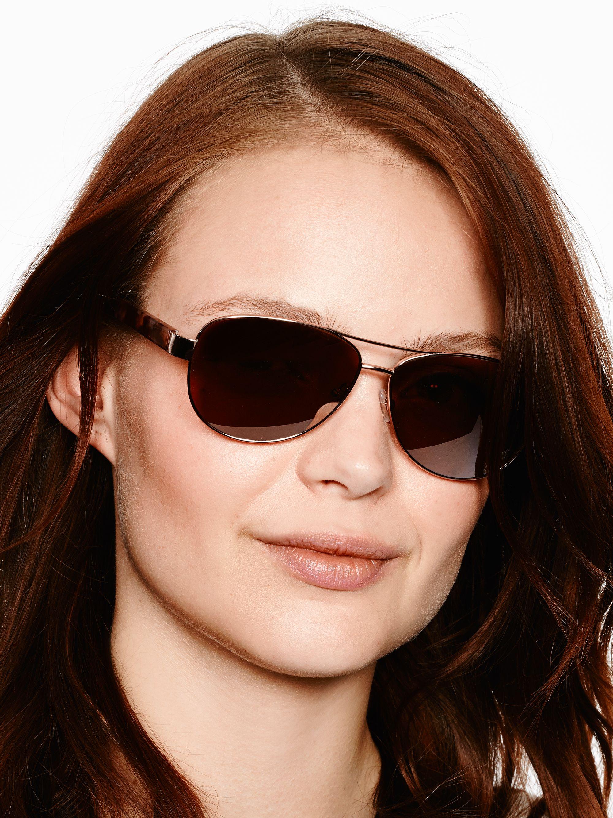00219e0a5ab Lyst - Kate Spade Dalia Sunglasses in Brown