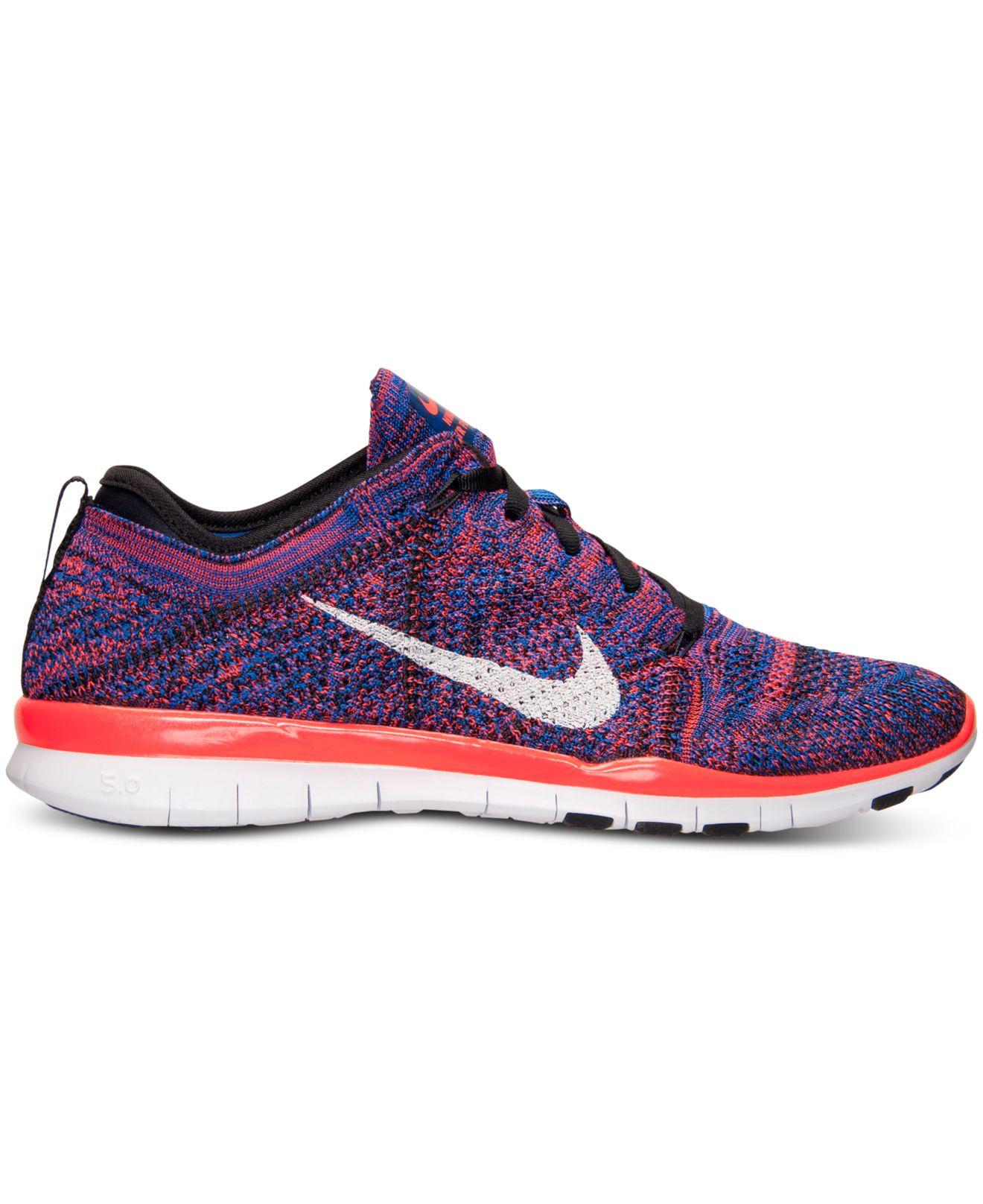Lyst Lyst Lyst Nike Donna Free 5.0 Tr Flyknit Metallic Training Scarpe da Ginnastica   9e6c78
