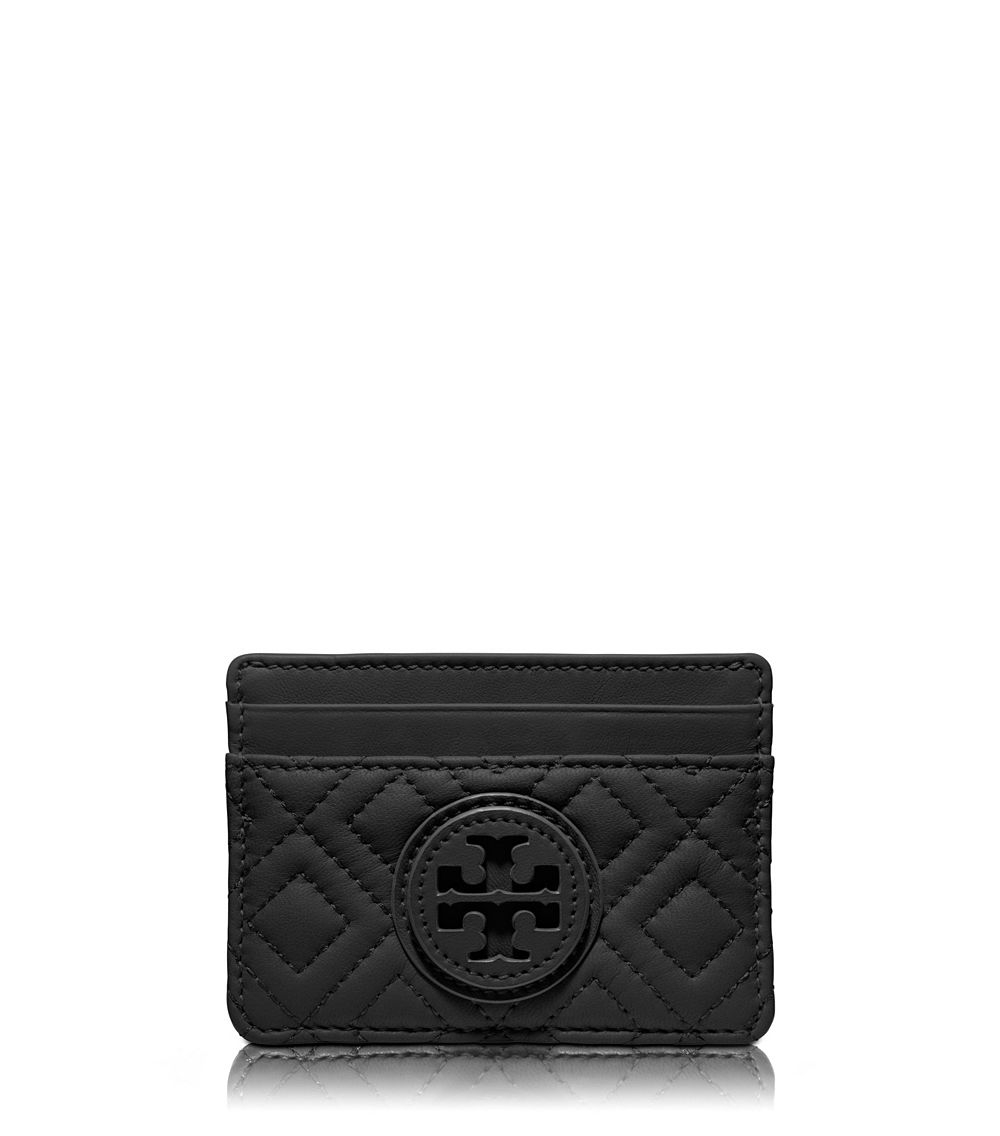 quilted card holder - Black Tory Burch