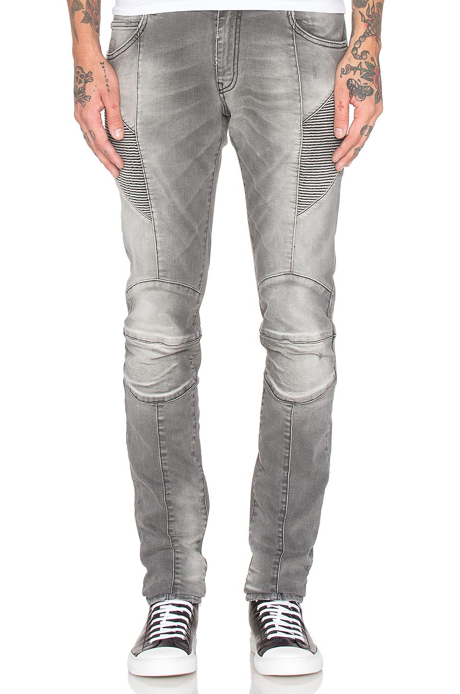 Balmain Jeans in Gray for Men