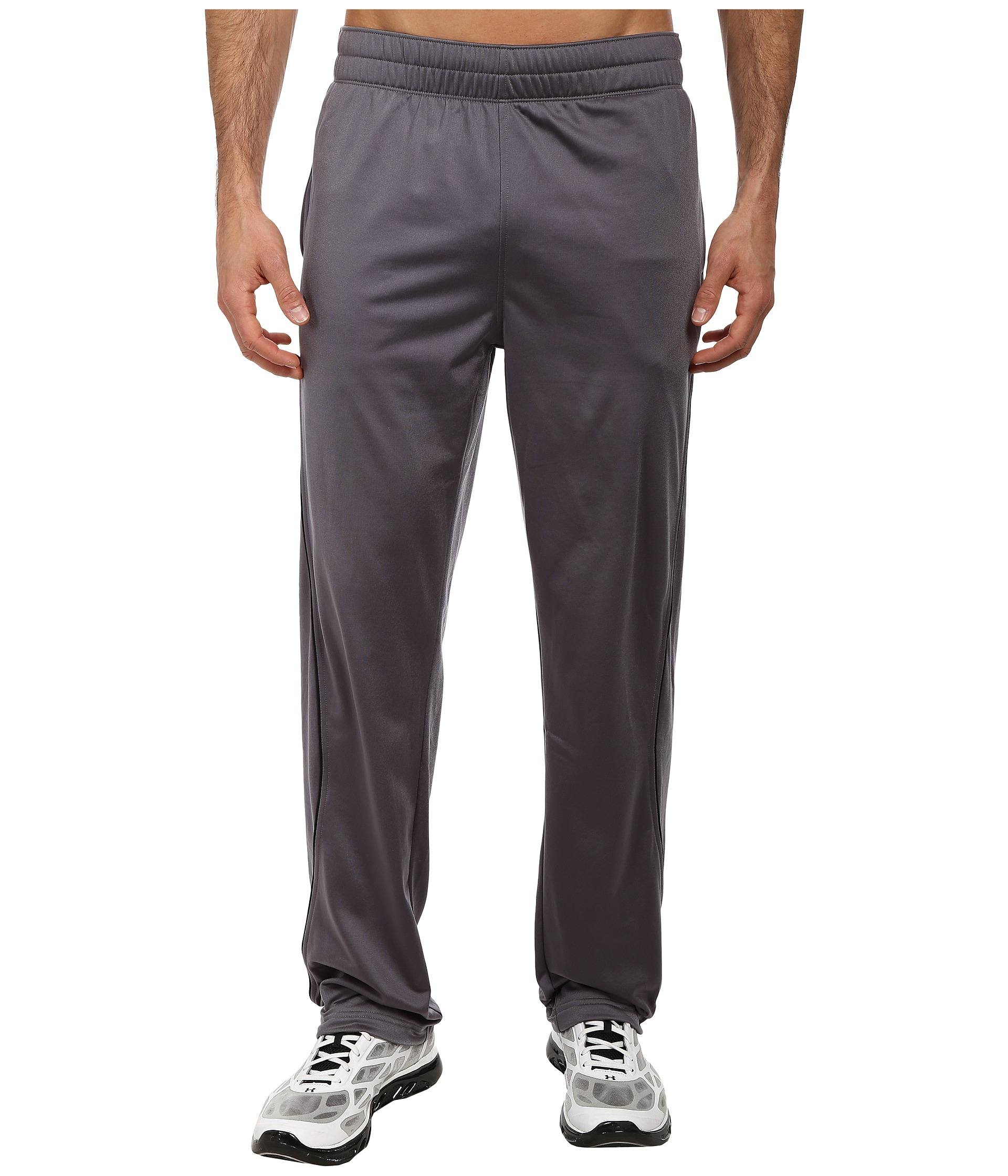 Under Armour Ua Lightweight Warm Up Pant In Gray For Men