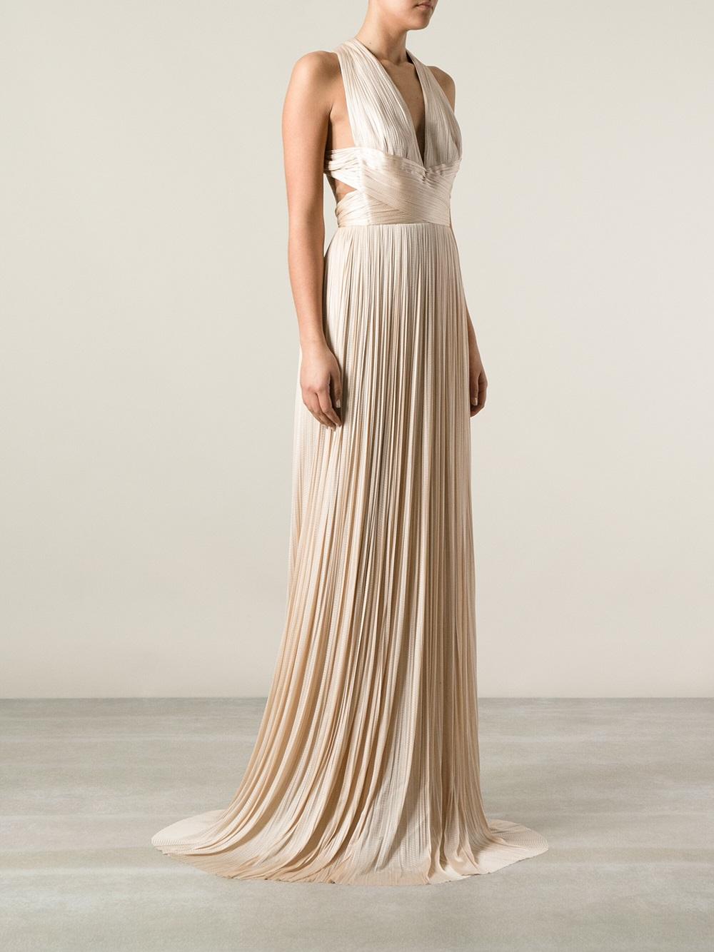 a580d4faa1e9 Lyst - Maria Lucia Hohan Flamingo Dress in Natural
