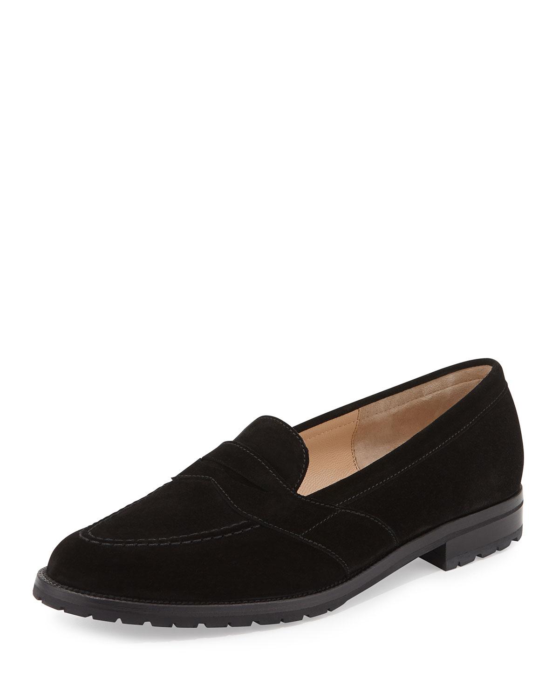 Black Suede Buck Shoes