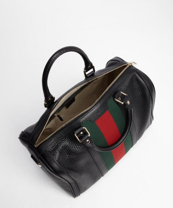 d2b203f01320 Gucci Handbag Black Leather - Best Handbag In 2018