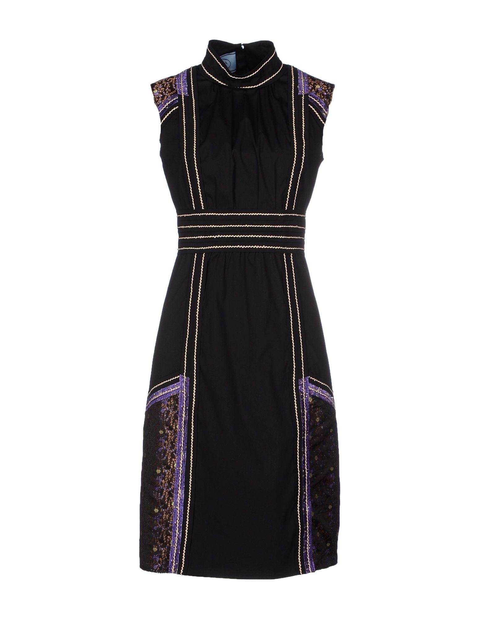 Prada Knee-length Dress in Black