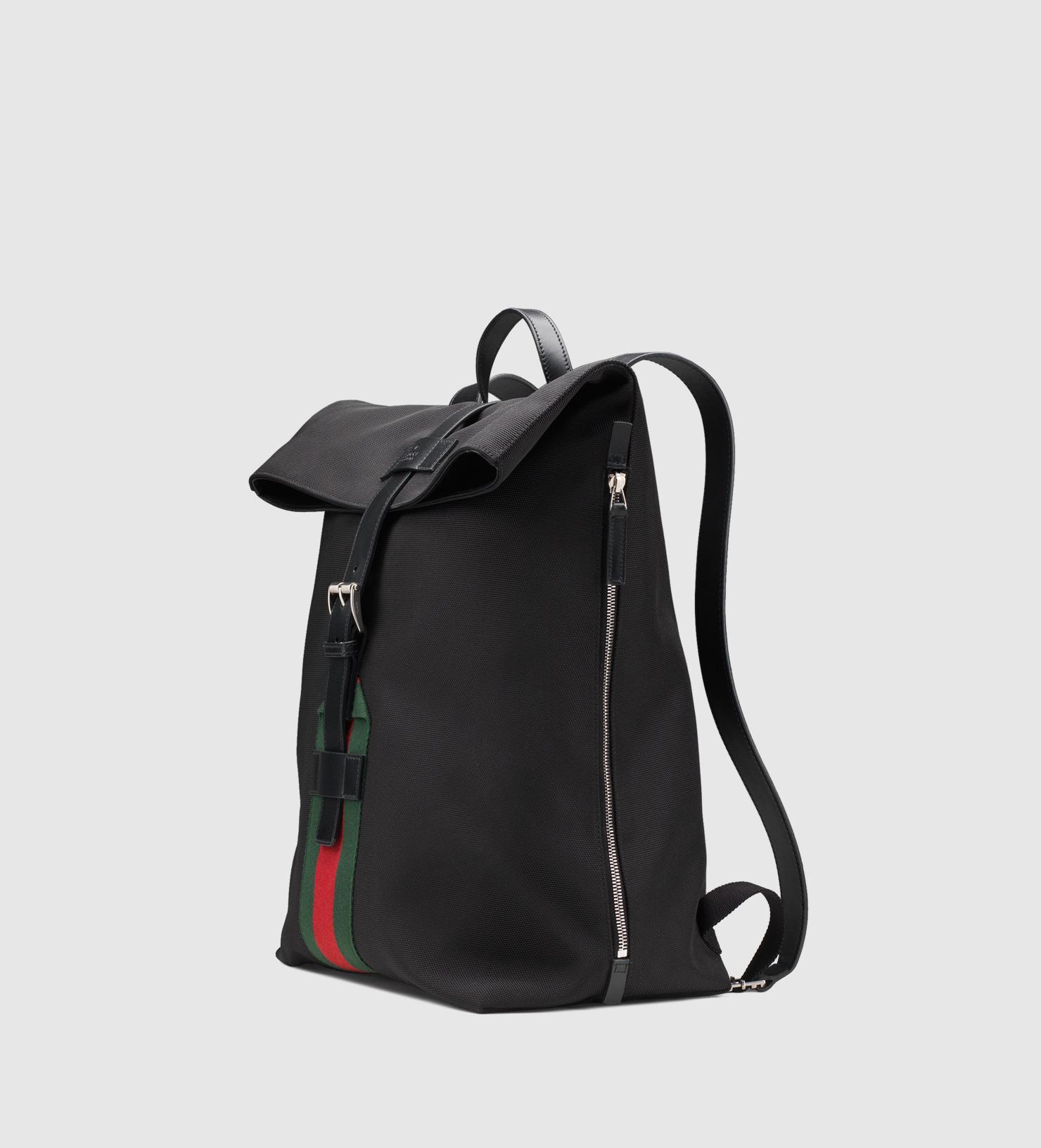 Gucci рюкзак черный рюкзаки городские брезентовые