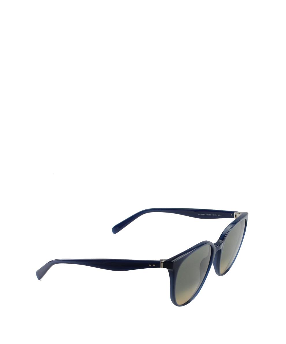 4d5d390c2e0 Céline Thin Mary Sunglasses in Blue - Lyst