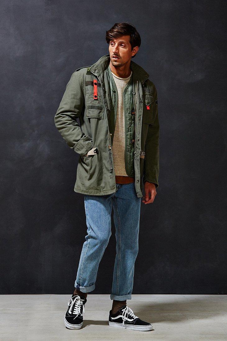 Alpha industries field jacket slim fit