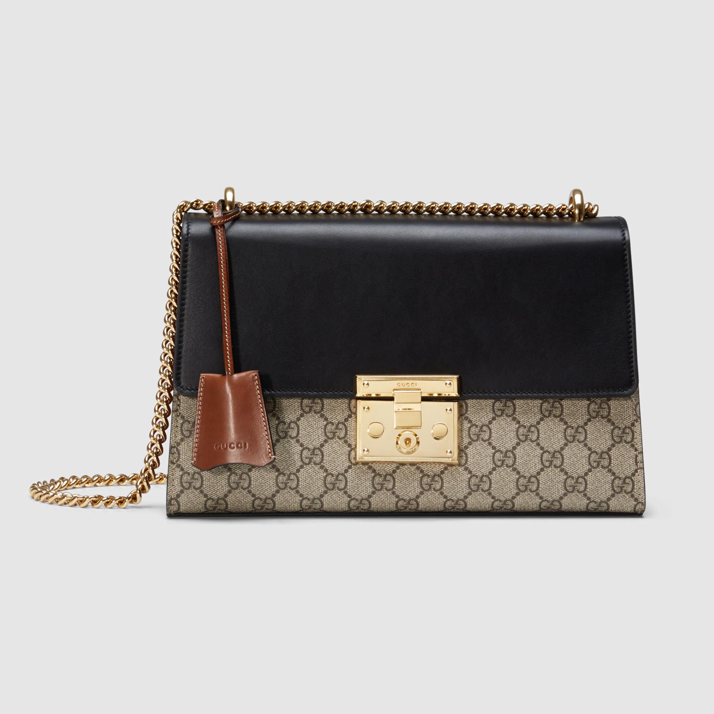 af48fcbe71b3a Gucci Padlock Gg Supreme Shoulder Bag Uk   Stanford Center for ...