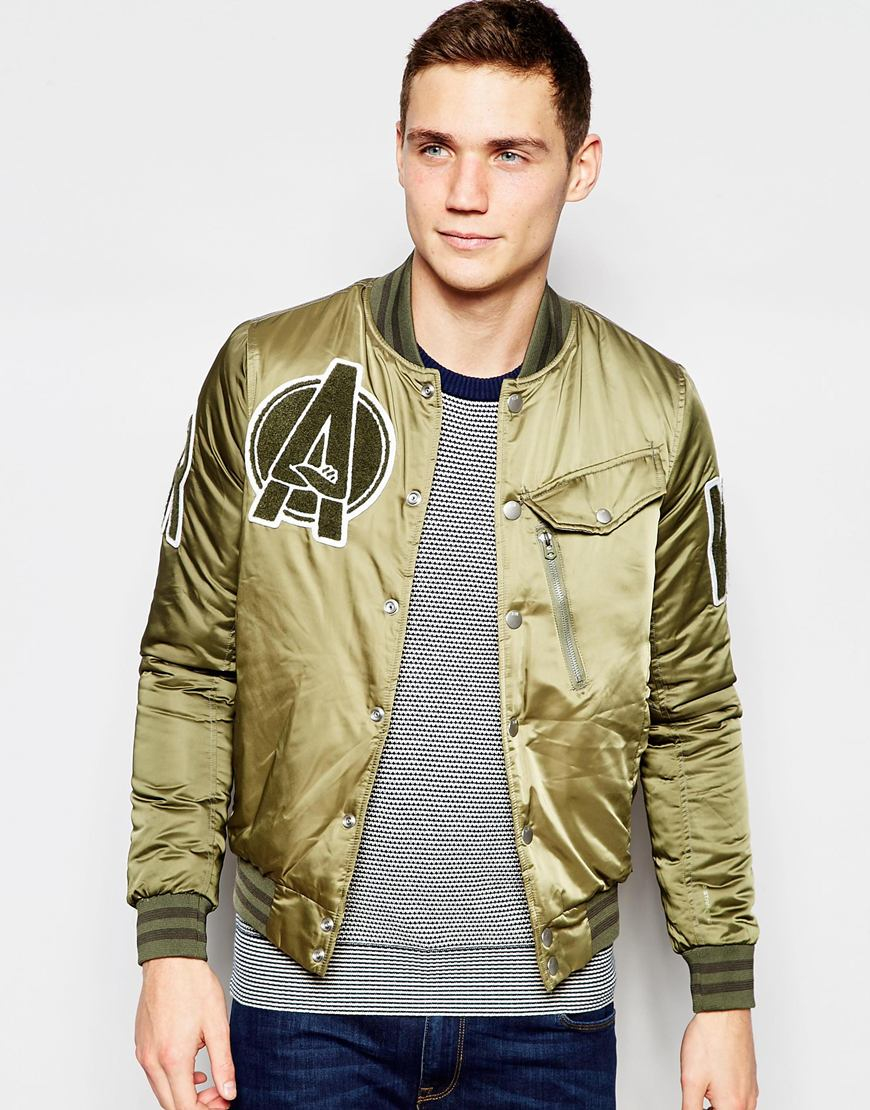 g star raw bomber jacket revend sateen in rustic green in. Black Bedroom Furniture Sets. Home Design Ideas