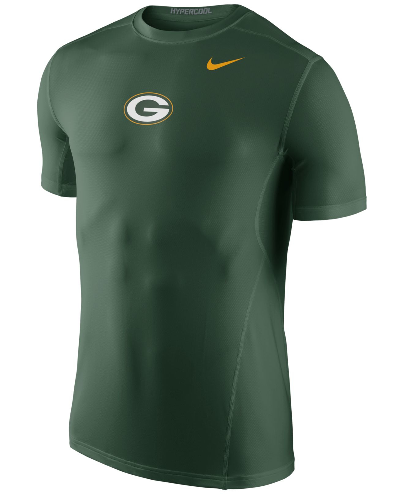 e4e19674f8c ... NFL BARBECUE TAILGATING GEAR Nike Mens Green Bay Packers Hypercool  T-shirt in Green for M 47 Brand ...