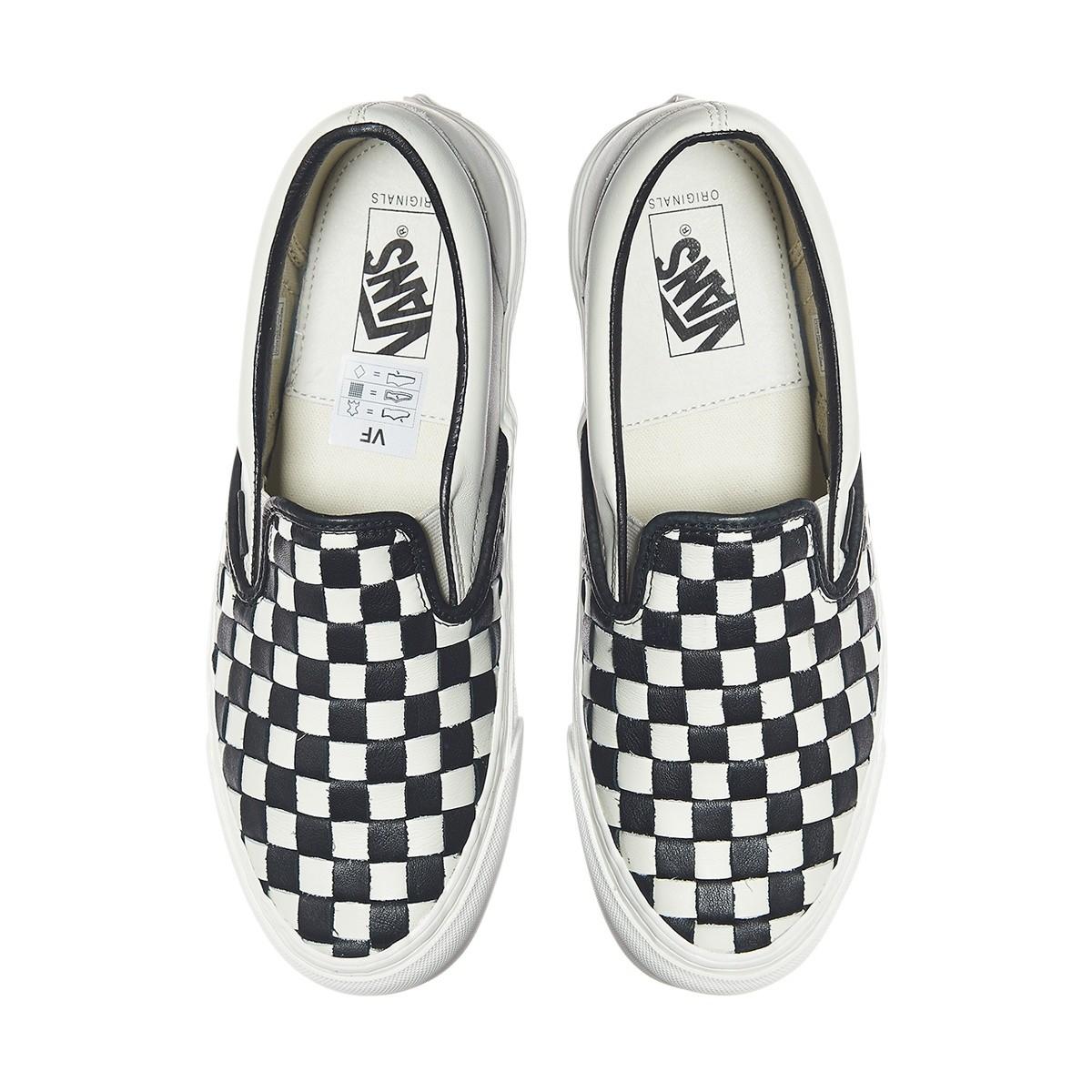 815252110b3 Lyst - Vans Og Classic Slip-on Lx 50th Checkerboard Anniversary ...