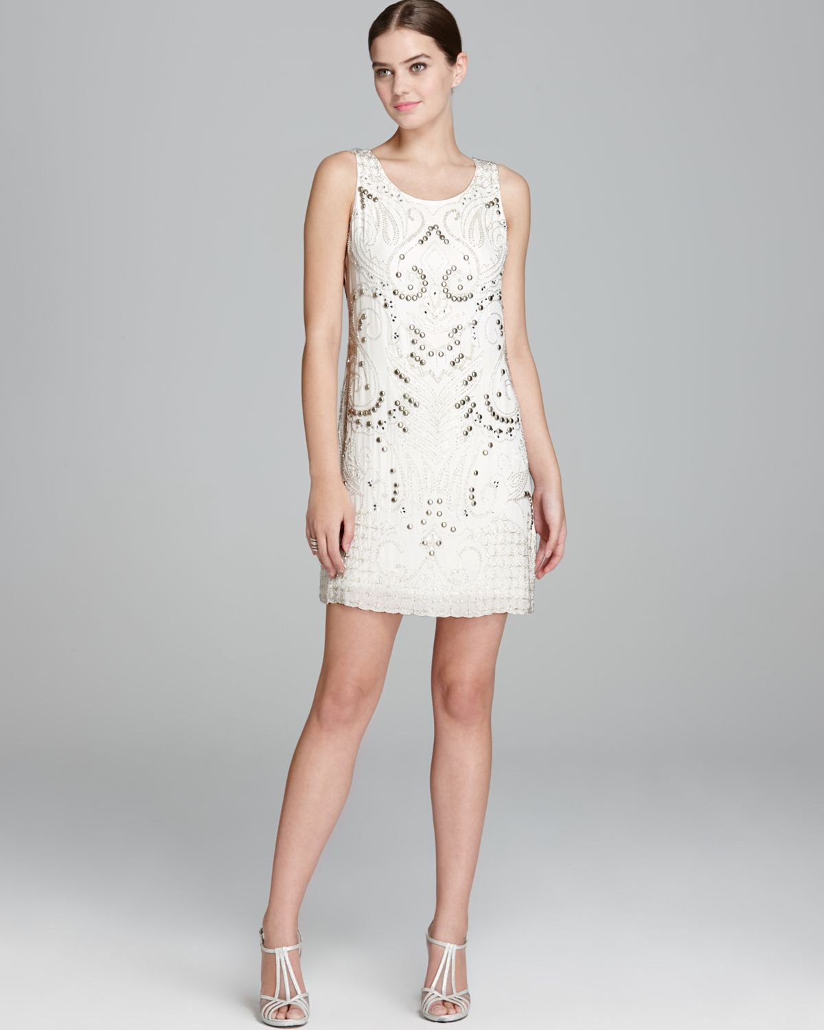 Alice And Olivia White Dress