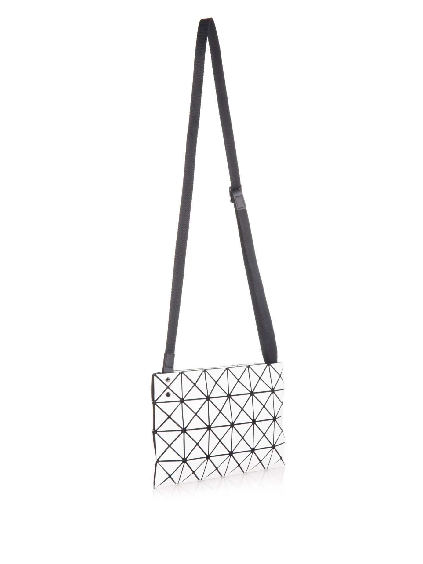 ... Lyst - Bao Bao Issey Miyake Lucent Cross-body Bag in White quality  design 23ecd ... c31119eefe974