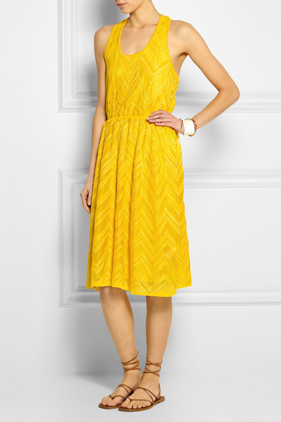 M missoni yellow dress
