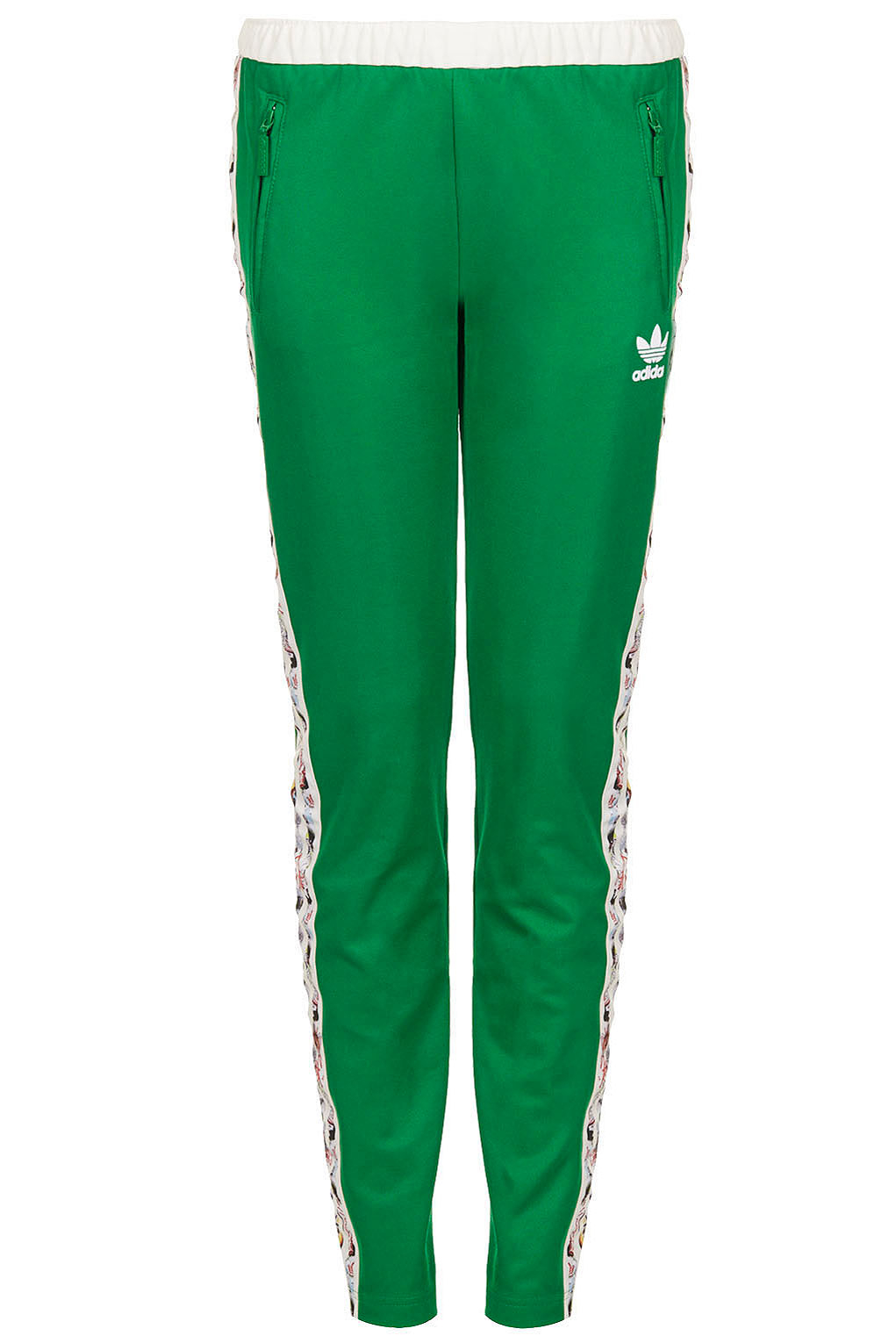 Lyst - TOPSHOP Tracksuit Bottoms By X Adidas Originals in Green c47555ad10