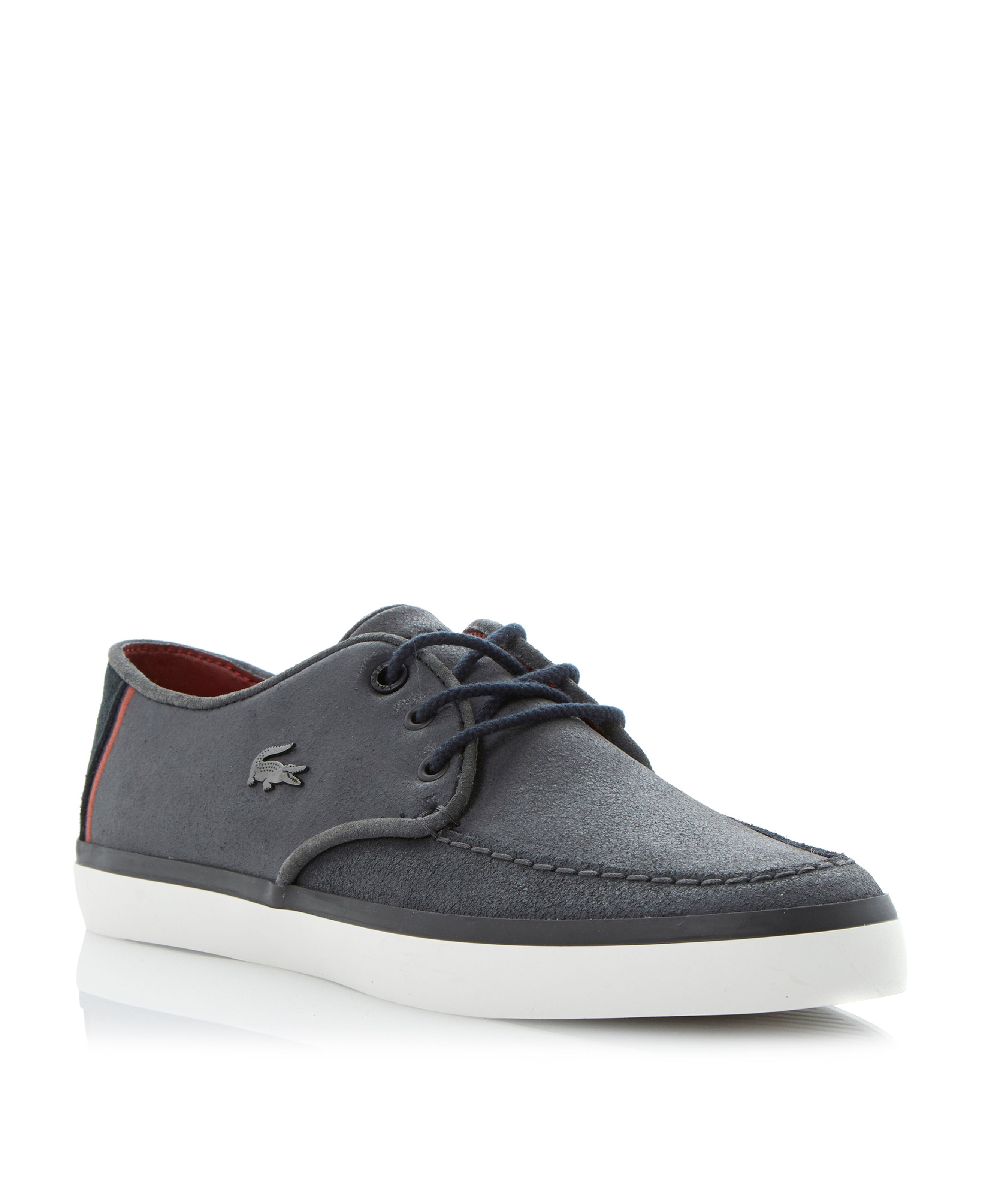 Lacoste Sevrin Eyelet Apron Casual Lace Up Shoes in Blue ...