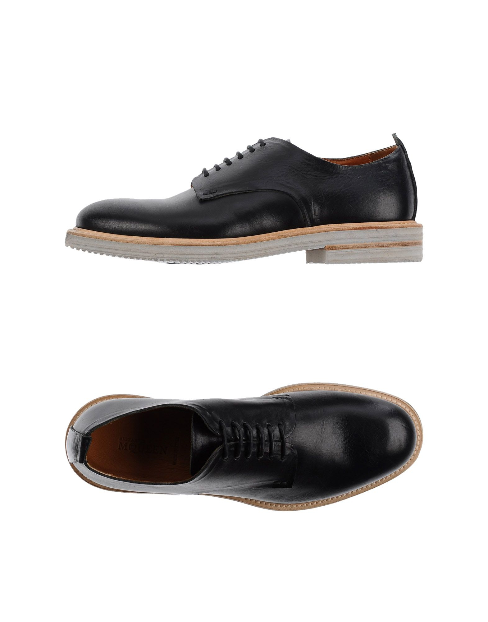 Lyst - Alexander Mcqueen Lace-up Shoes in Black for Men