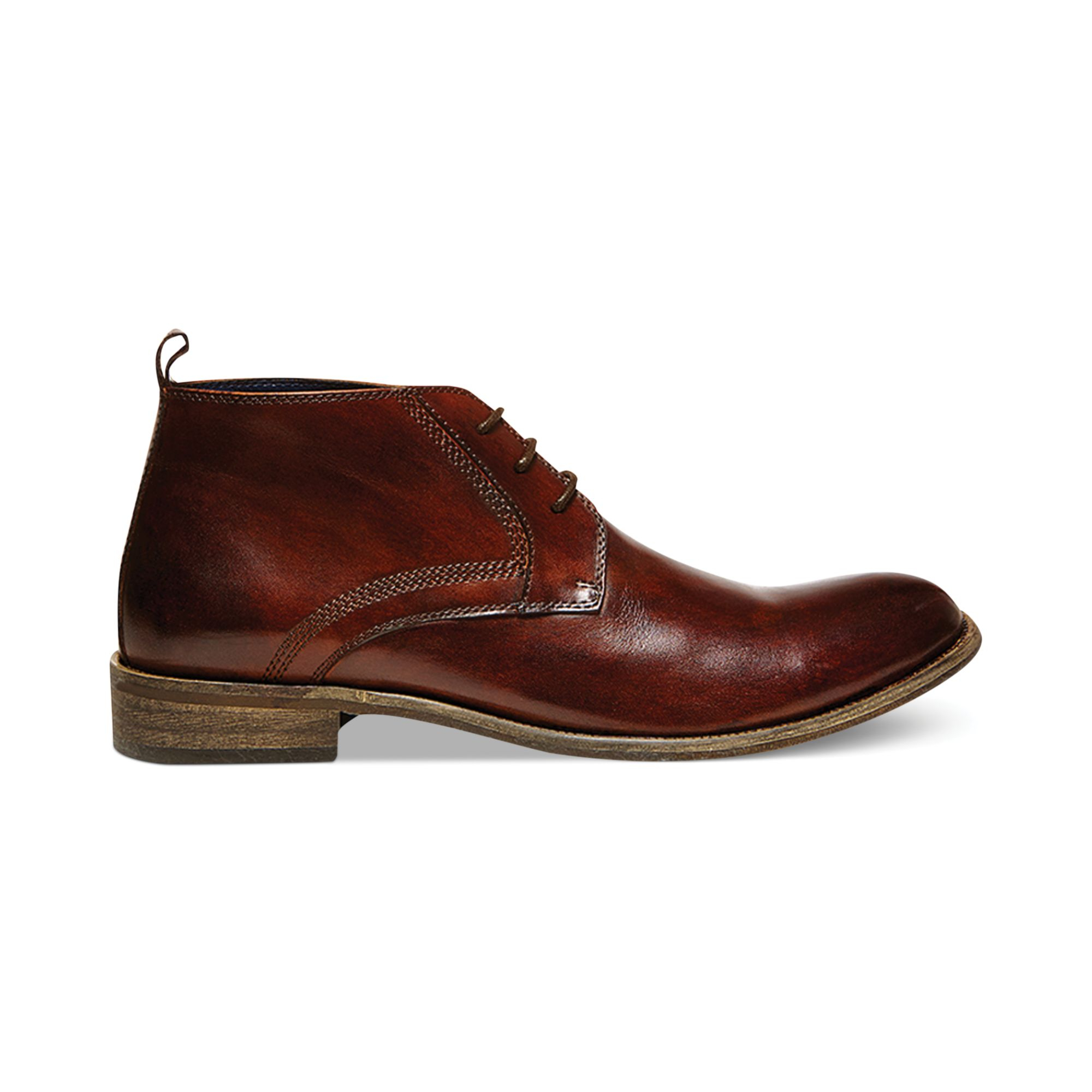 Steve Madden Boro Chukka Boots In Brown For Men Cognac