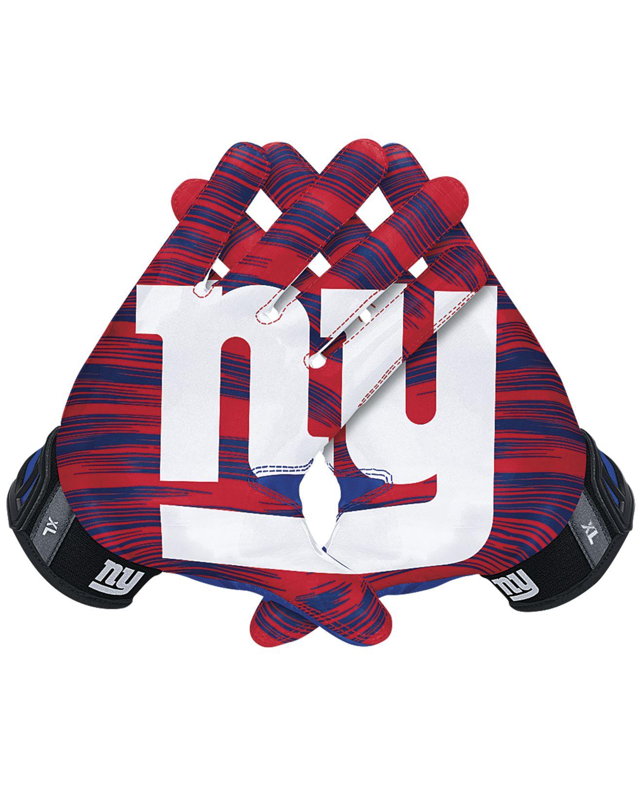 9a176208132 Nike New York Giants 30 Vapor Jet Gloves in Red for Men - Lyst