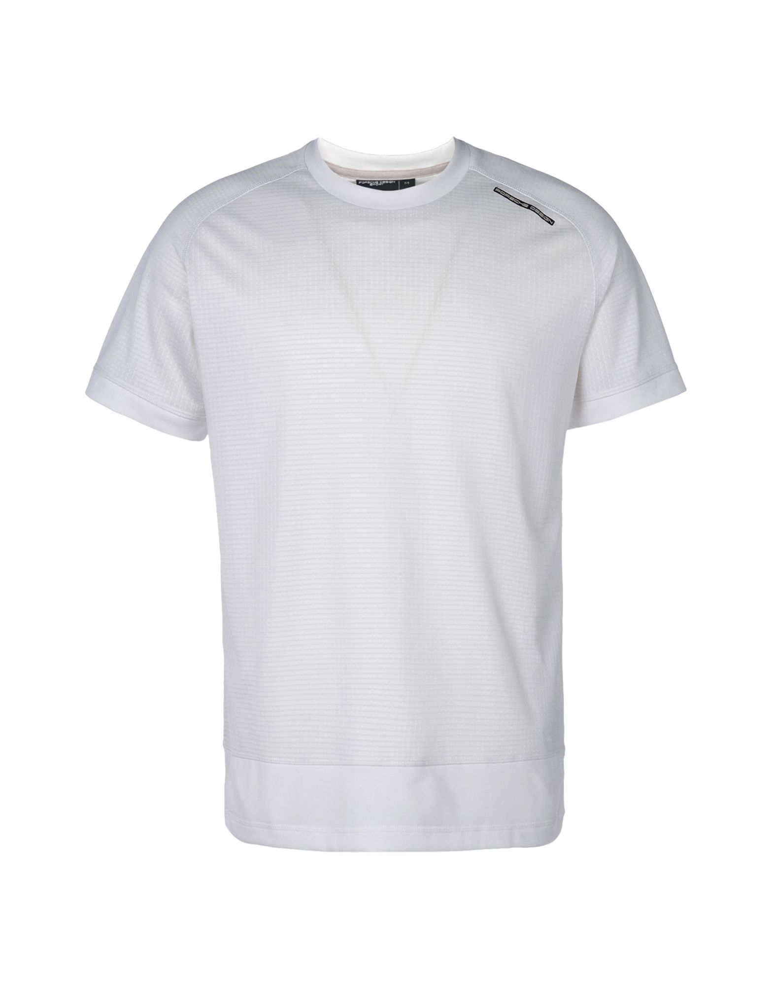 porsche design t shirt in white for men lyst. Black Bedroom Furniture Sets. Home Design Ideas