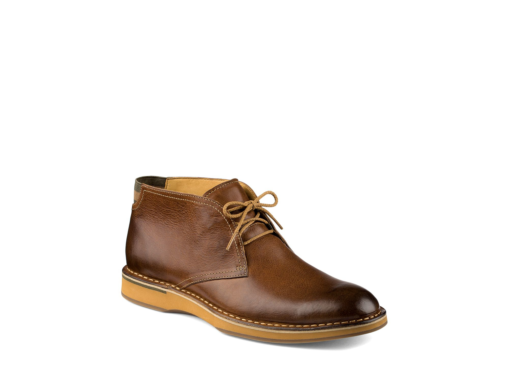 Model Sperry Top Sider For J.Crew Leather And Wool Chukka Shoes Boots 13 $140 NEW | EBay