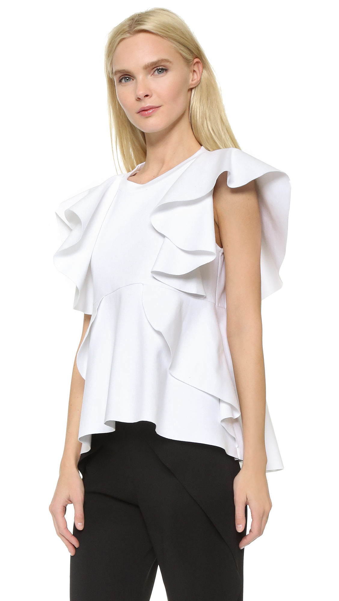 Find ruffle tops at ShopStyle. Shop the latest collection of ruffle tops from the most popular stores - all in one place.
