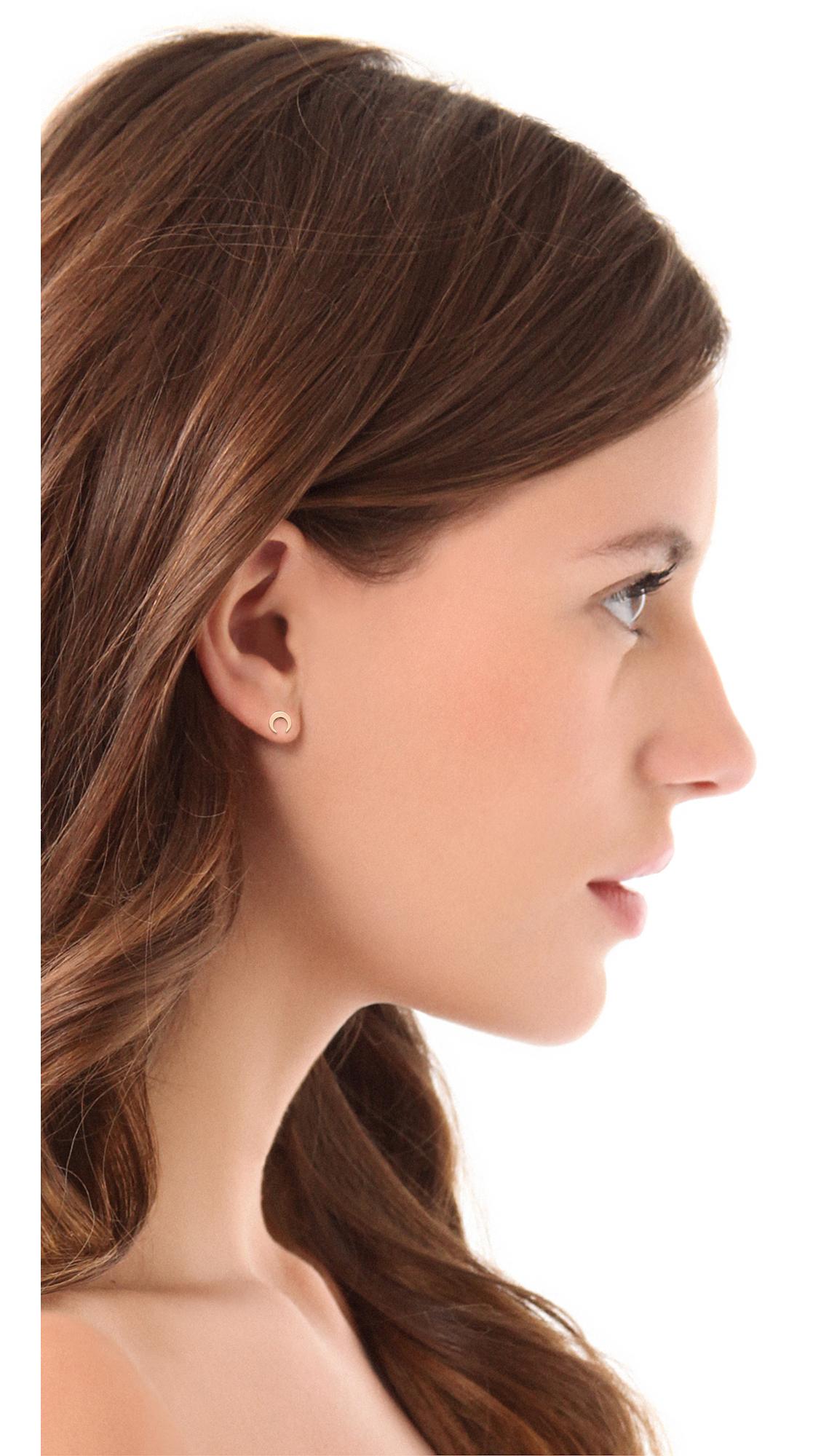 Ginette Ny Masai Stud Earrings In Metallic Lyst