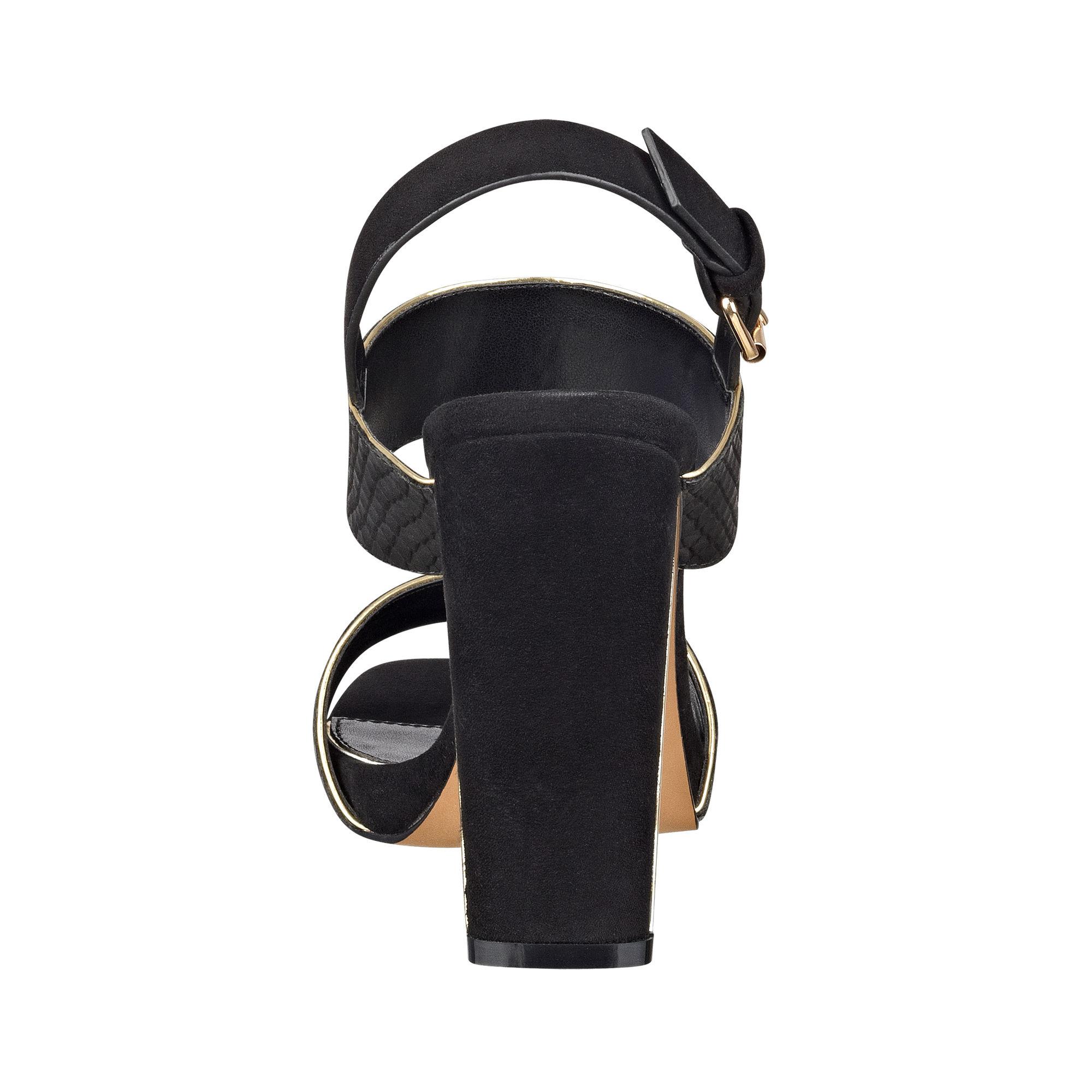 Black sandals nine west - Gallery