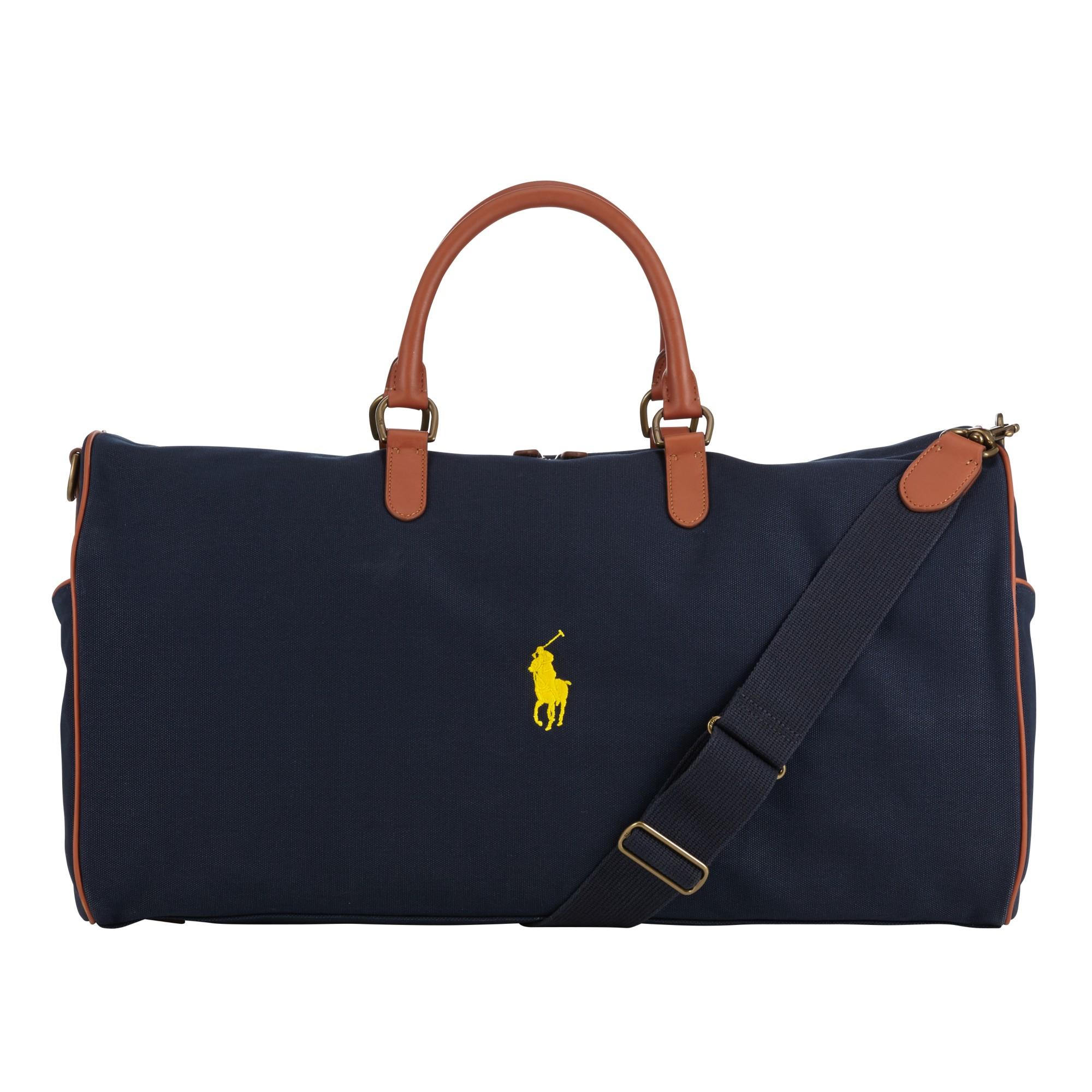 d810cedb2e Ralph Lauren Polo Blue Weekend Travel Holdall Gym Bag