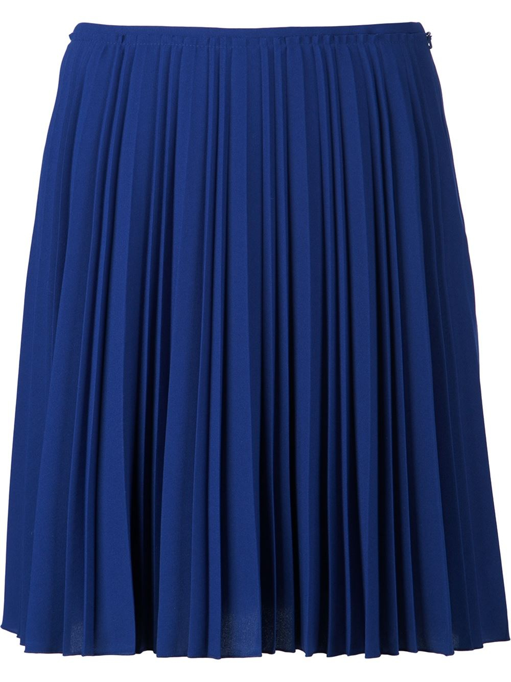 cedric charlier pleated skirt in blue save 60 lyst