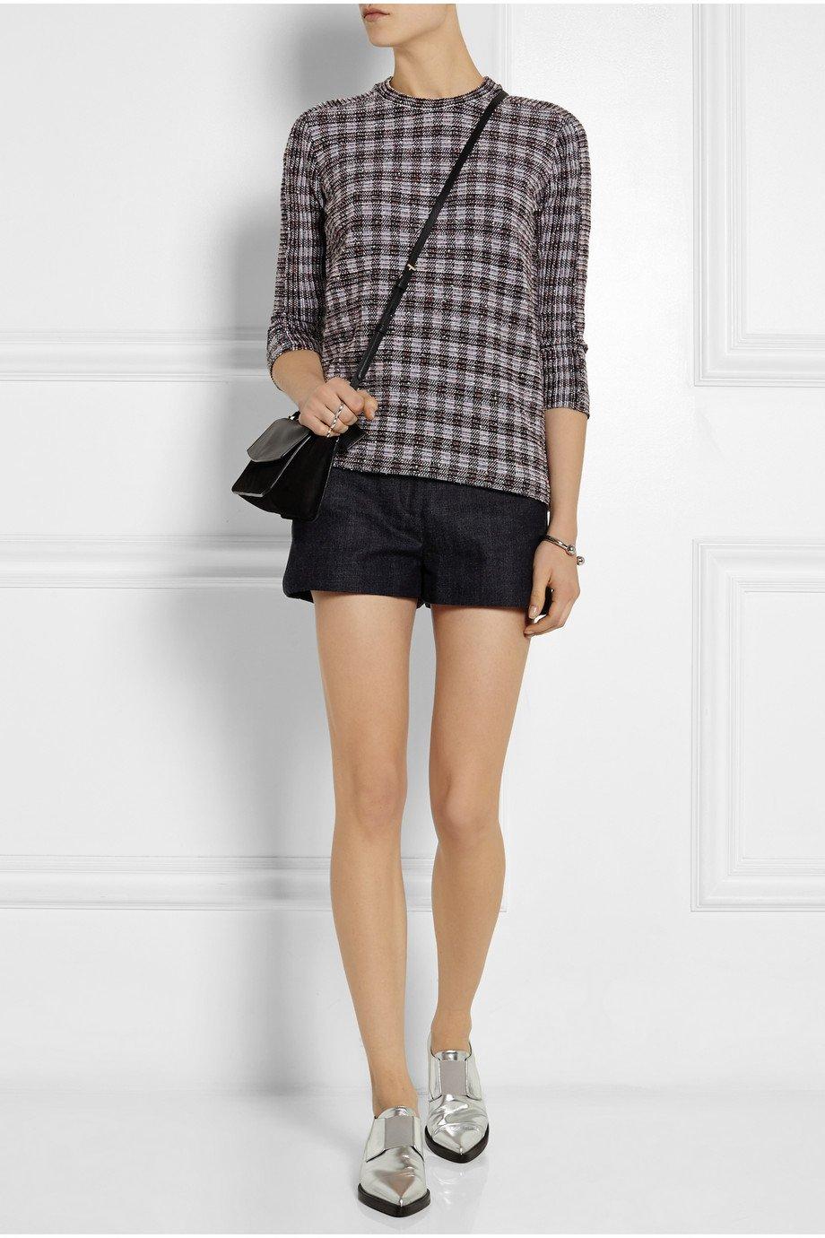 Lyst Victoria Beckham Denim Shorts In Blue
