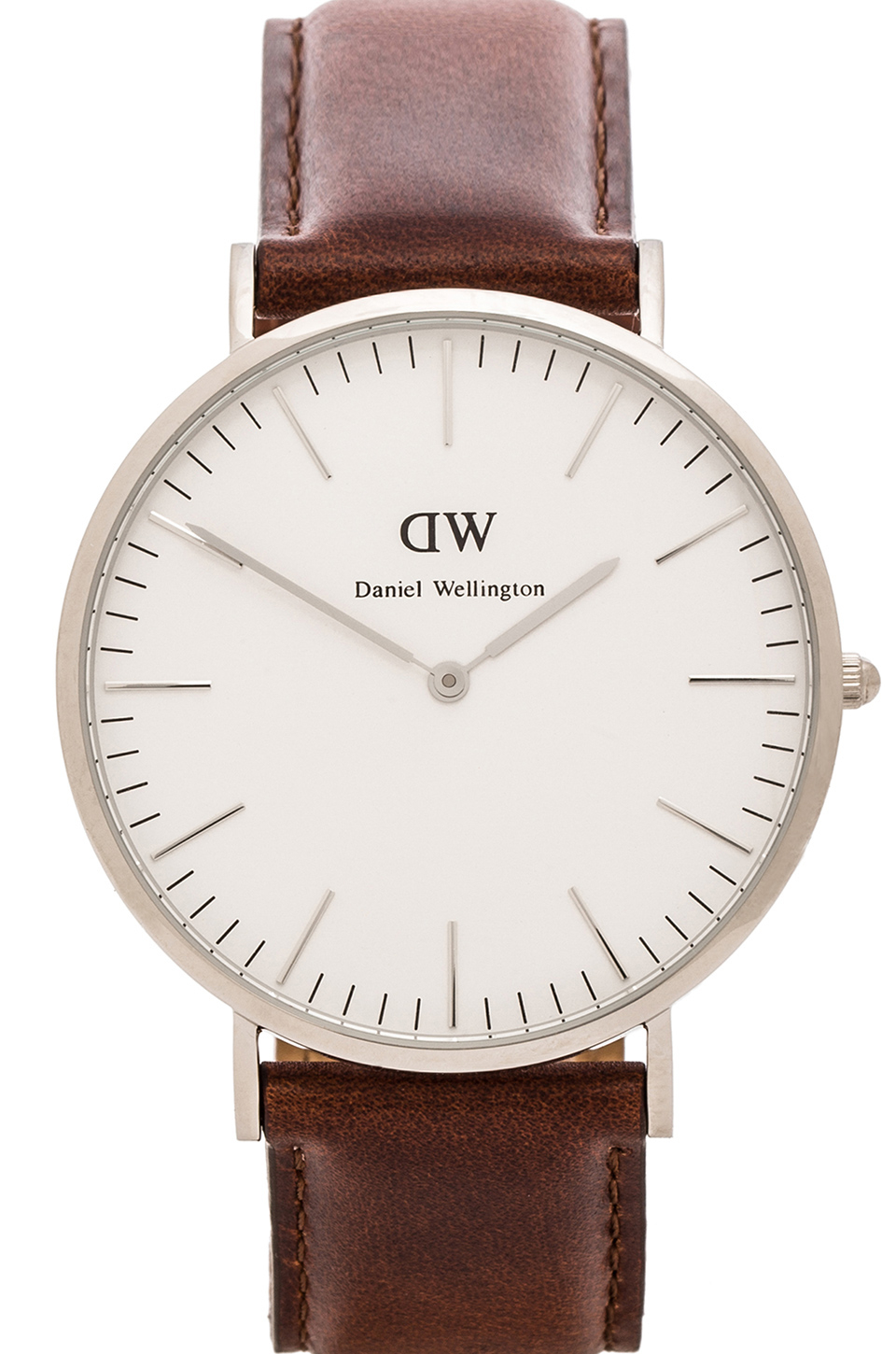 daniel wellington st mawes 40mm in silver for men lyst. Black Bedroom Furniture Sets. Home Design Ideas