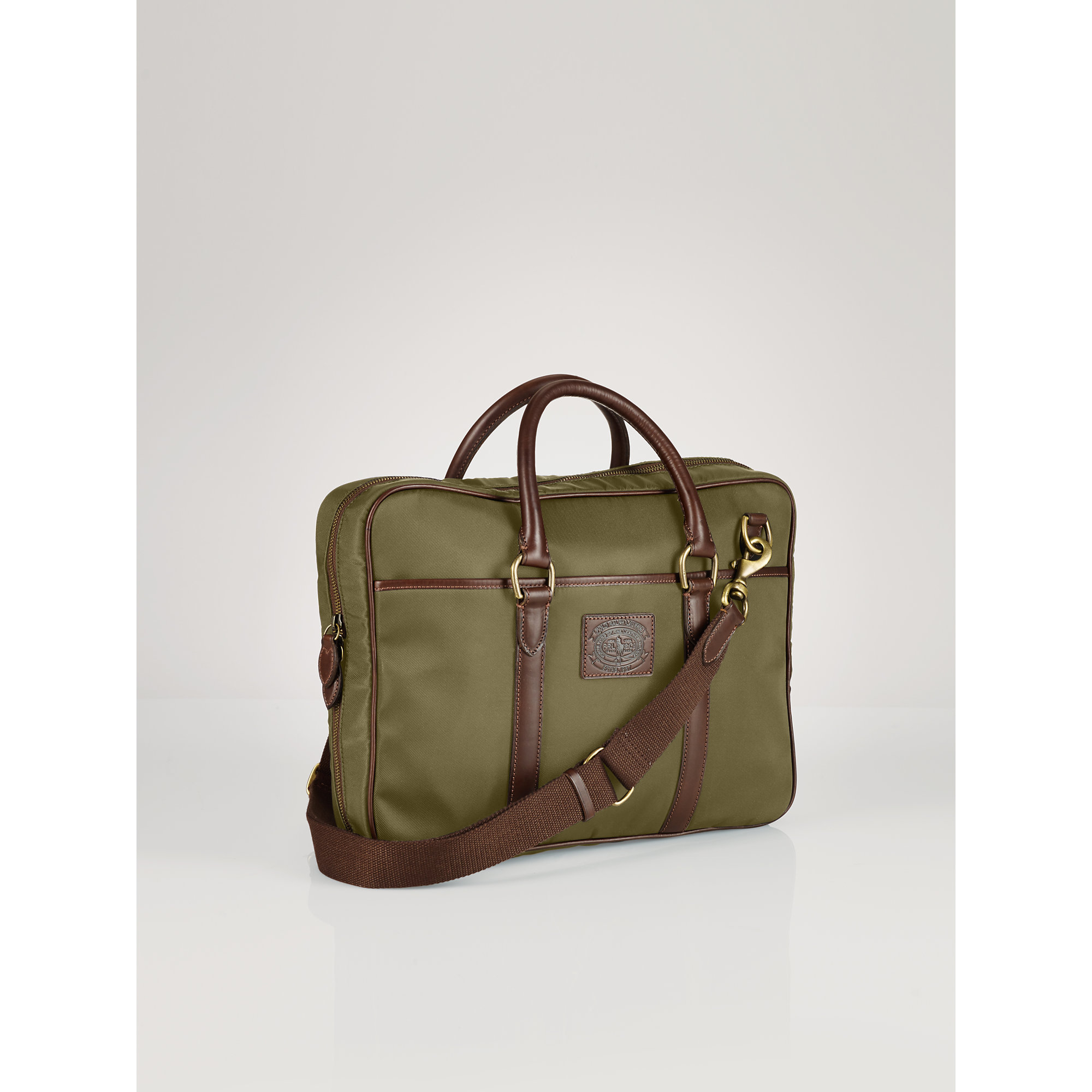 Lyst - Polo Ralph Lauren Nylon Commuter Bag in Green for Men 674e8f4875