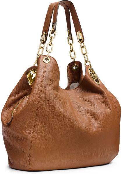 Michael Michael Kors Fulton Medium Shoulder Bag Brown 35