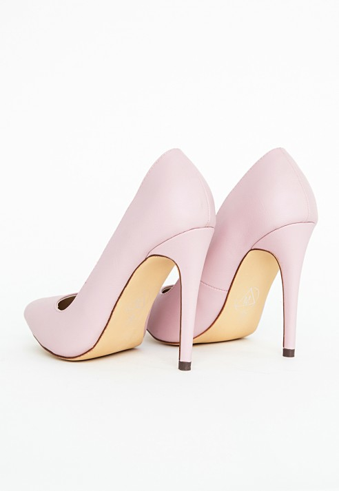 dfcfc337a7 Lyst - Missguided Natalie Court Shoes In Baby Pink in Pink