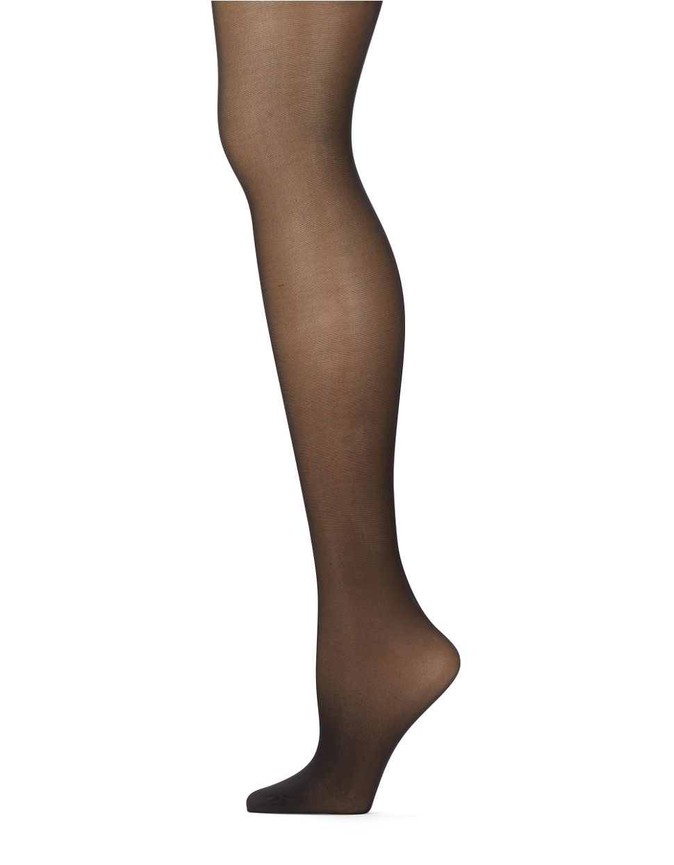 Calvin Klein Control Top Sheer Pantyhose In Black  Lyst-9894