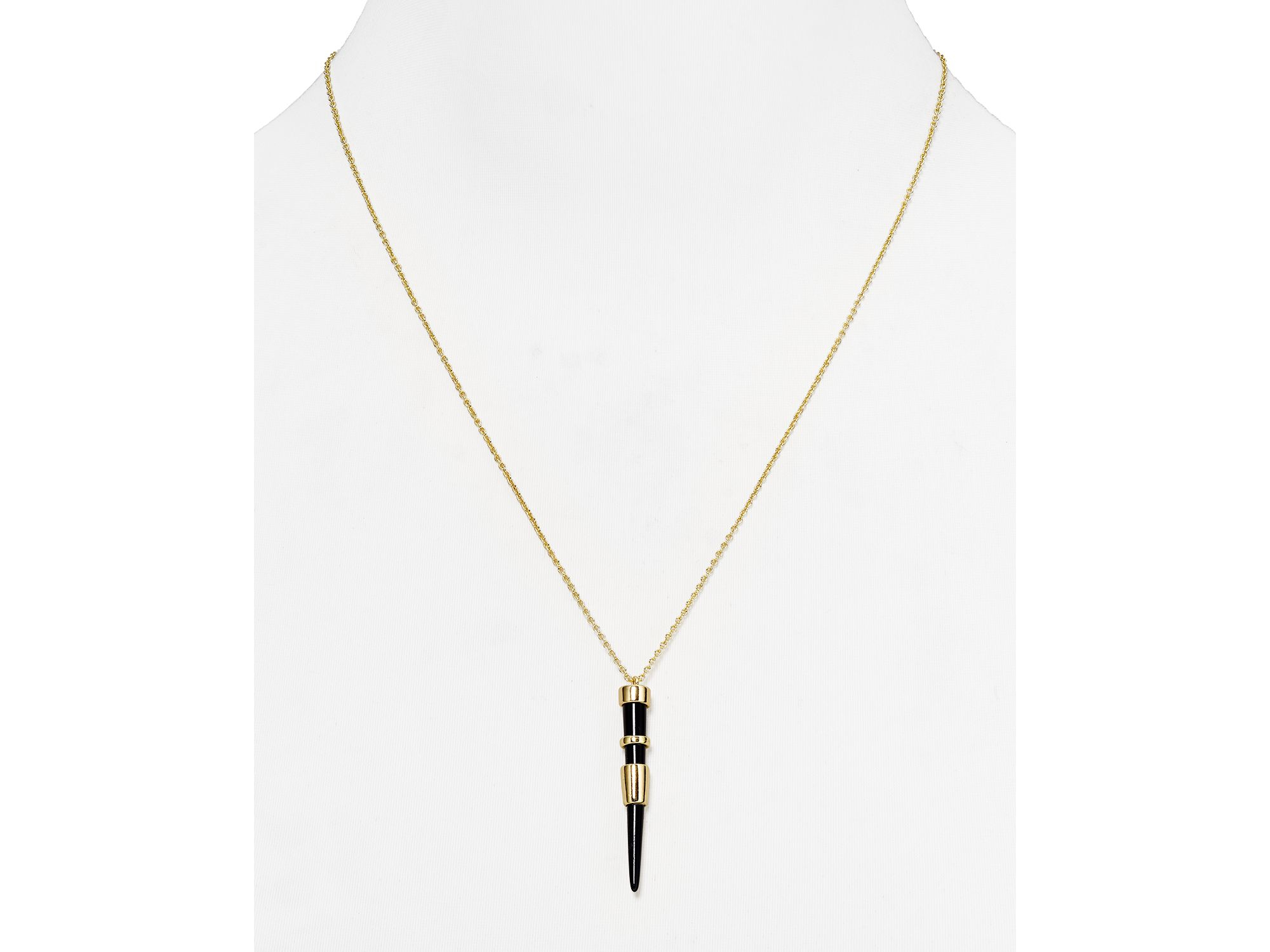Lyst house of harlow 1960 1960 rift valley drop pendant necklace gallery mozeypictures Gallery