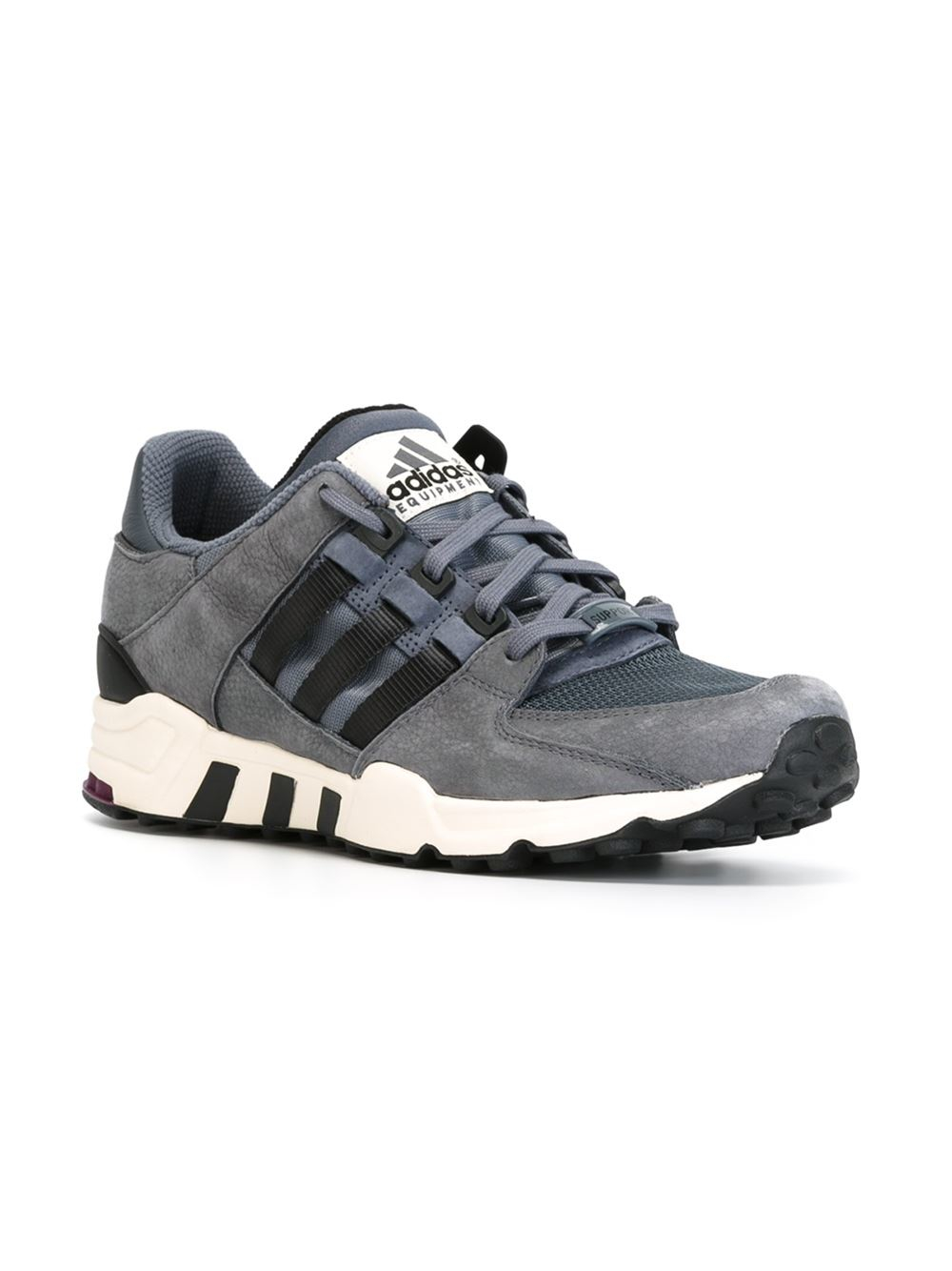 Adidas Originals Originals Top Ten Low Sneaker In Black: Adidas Originals 'equipment Running Support' Sneakers In