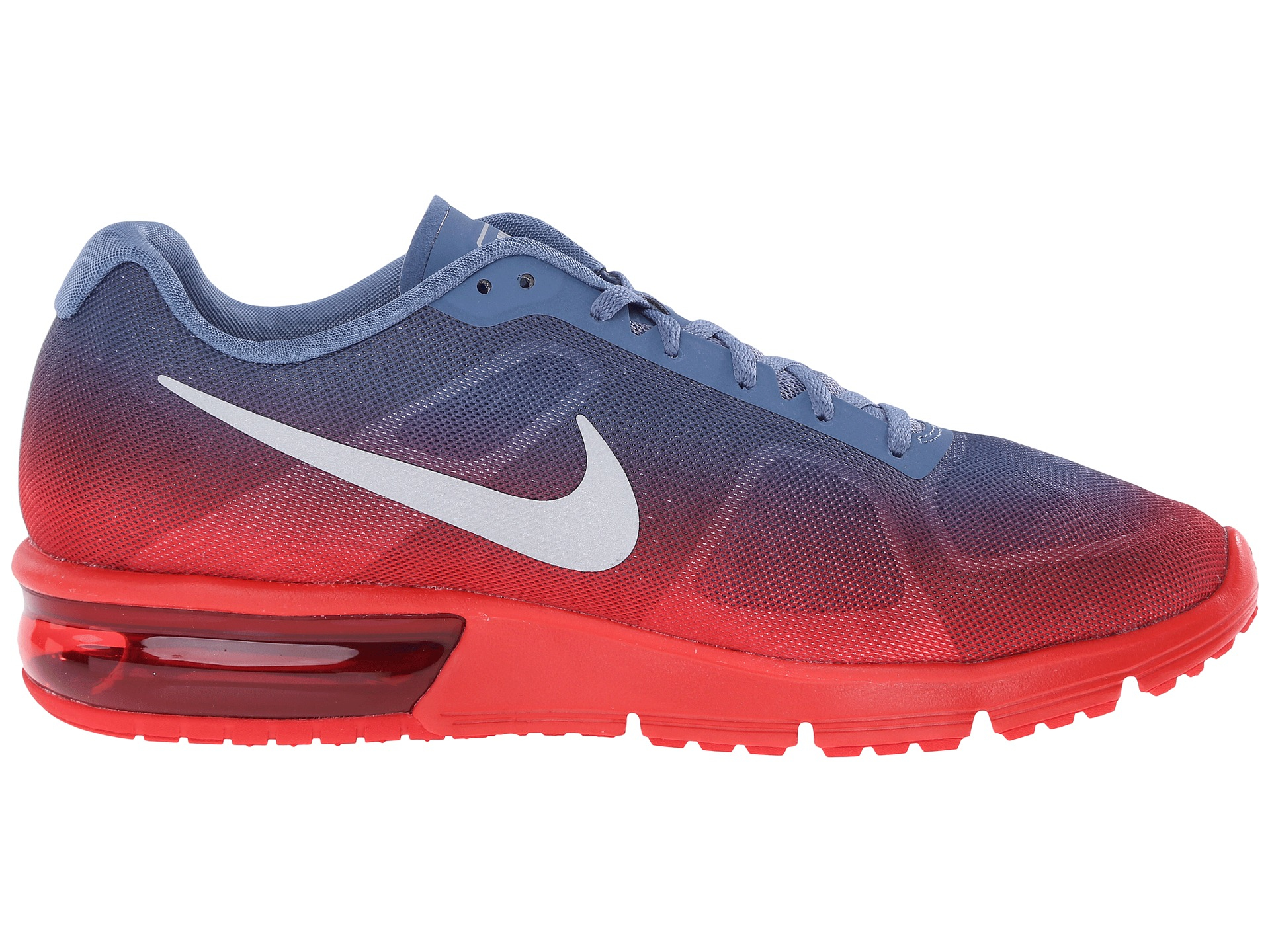 a57150919a Nike Air Max Sequent Low-Top Sneakers in Red for Men - Lyst
